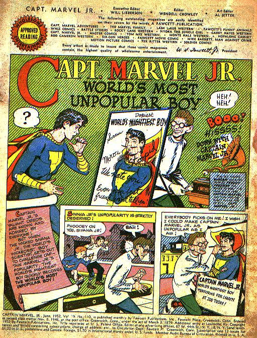 Captain Marvel, Jr. issue 110 - Page 1