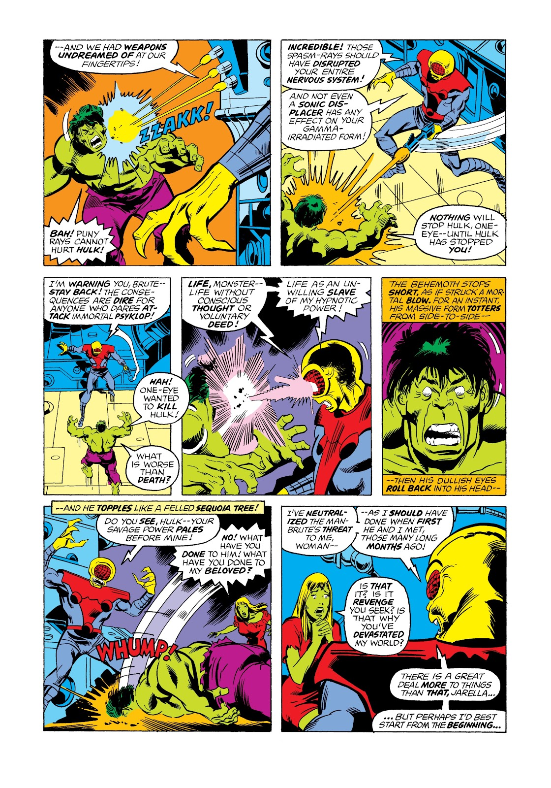 Read online Marvel Masterworks: The Incredible Hulk comic -  Issue # TPB 12 (Part 2) - 58