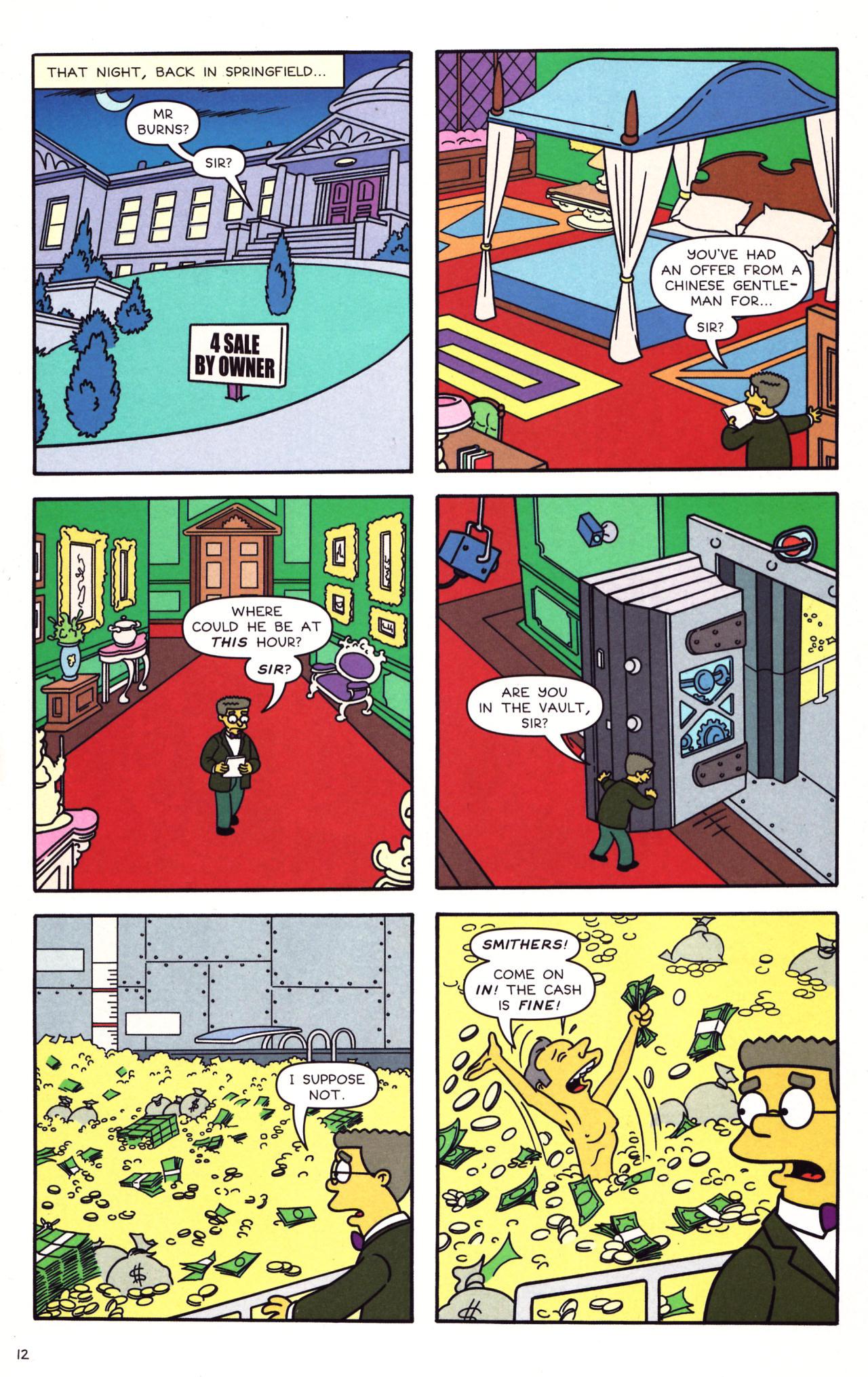 Read online Simpsons Comics comic -  Issue #133 - 11