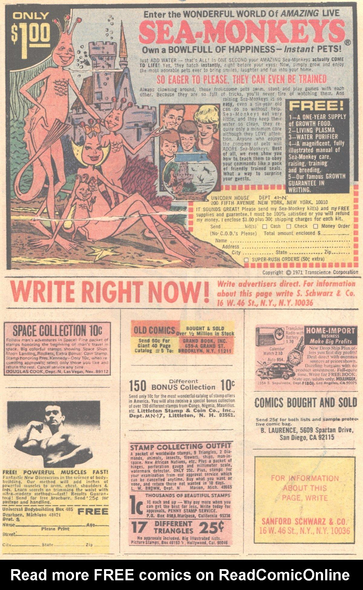 Read online Adventure Comics (1938) comic -  Issue #414 - 44
