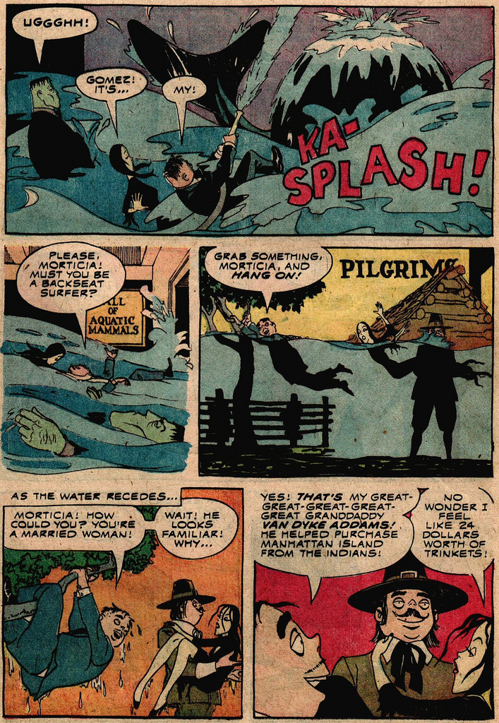 Read online Addams Family comic -  Issue #2 - 11