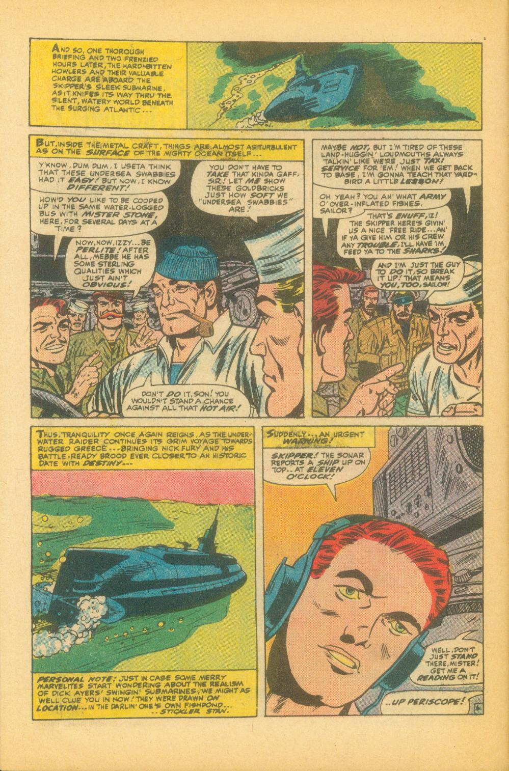 Read online Sgt. Fury comic -  Issue #99 - 10