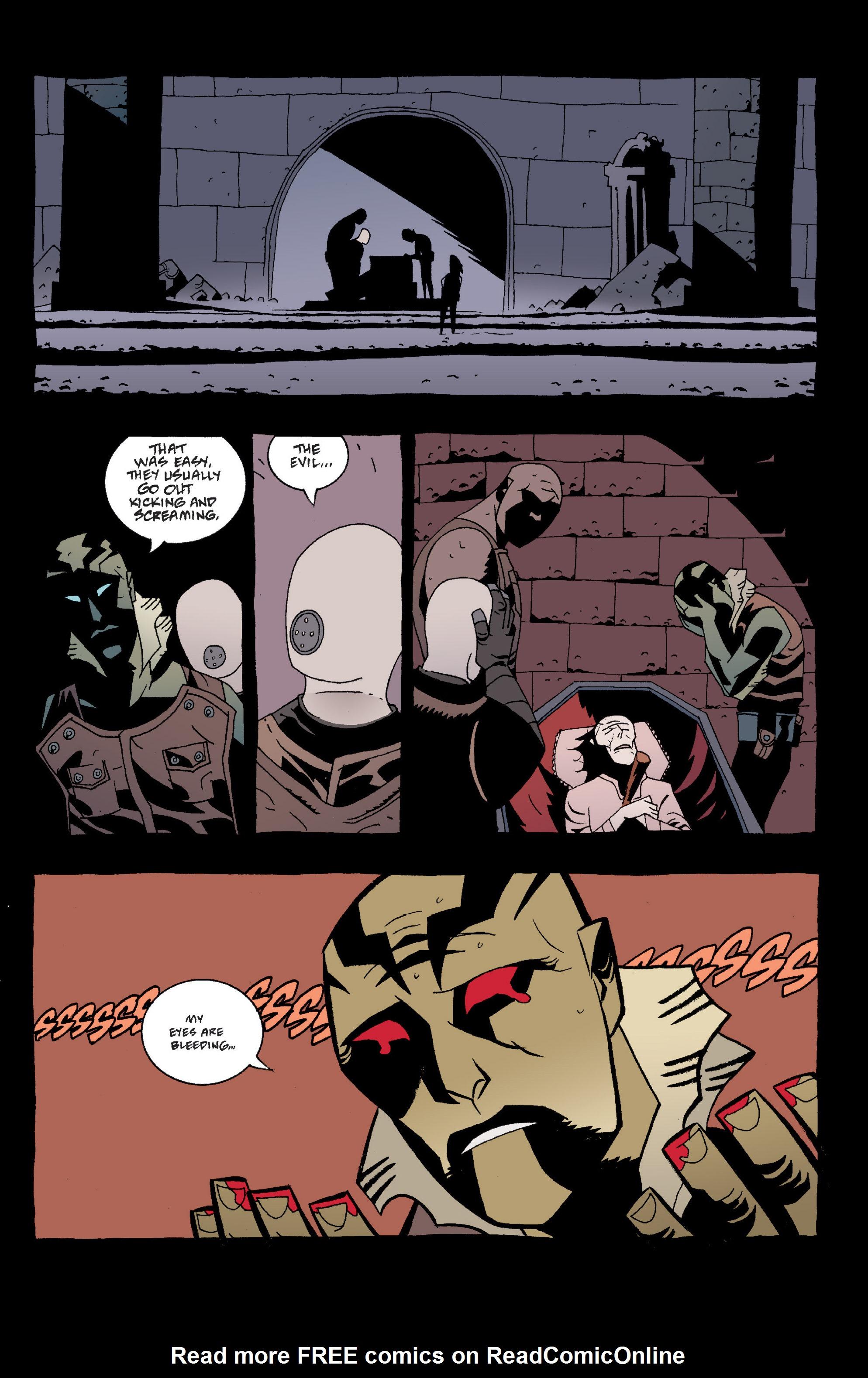 Read online B.P.R.D. (2003) comic -  Issue # TPB 2 - 19