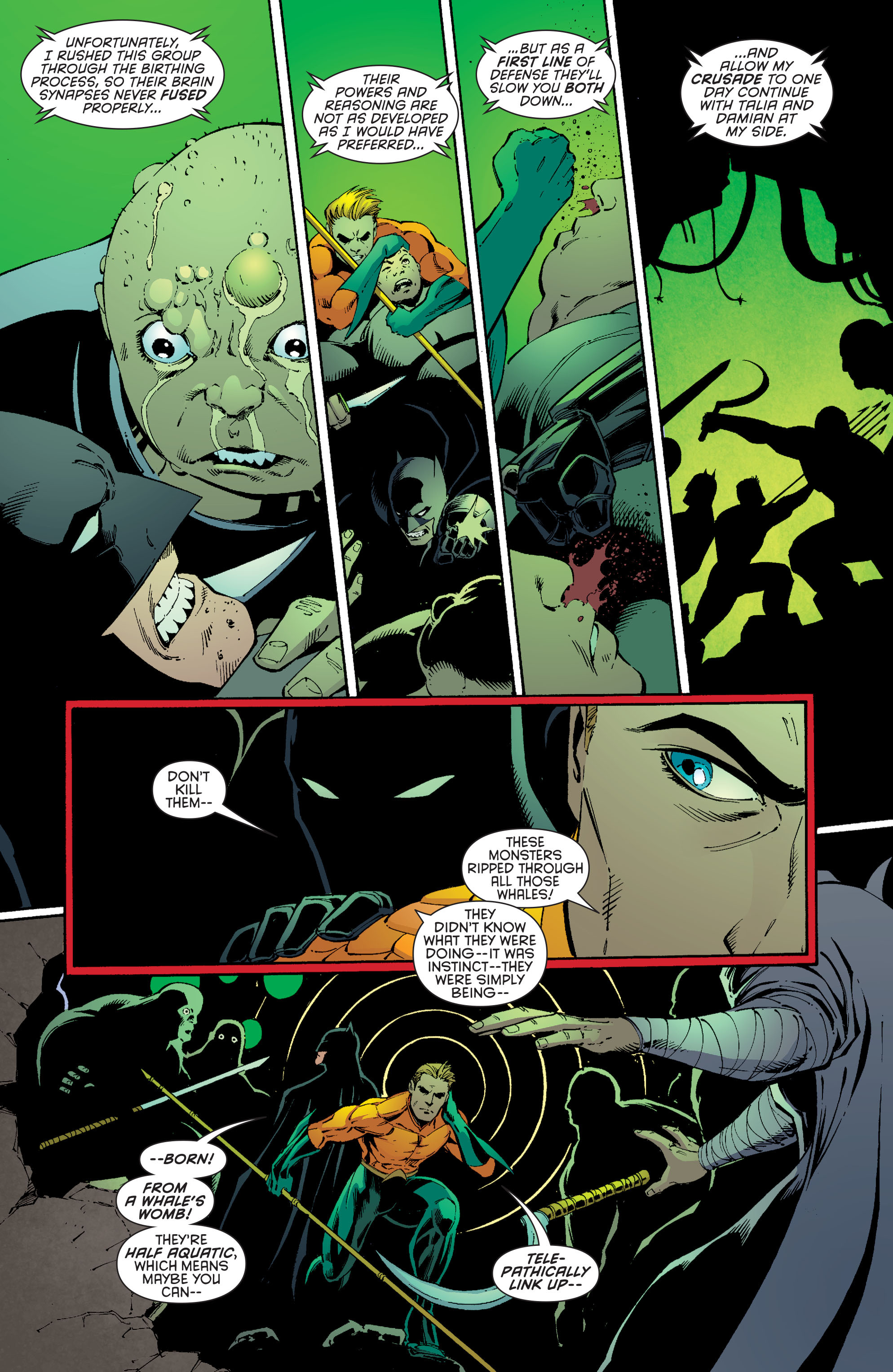 Read online Batman and Robin (2011) comic -  Issue #29 - Batman and Aquaman - 13