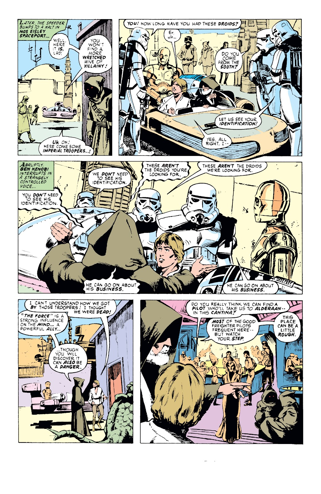Read online Star Wars Legends: The Original Marvel Years - Epic Collection comic -  Issue # TPB 1 (Part 1) - 31