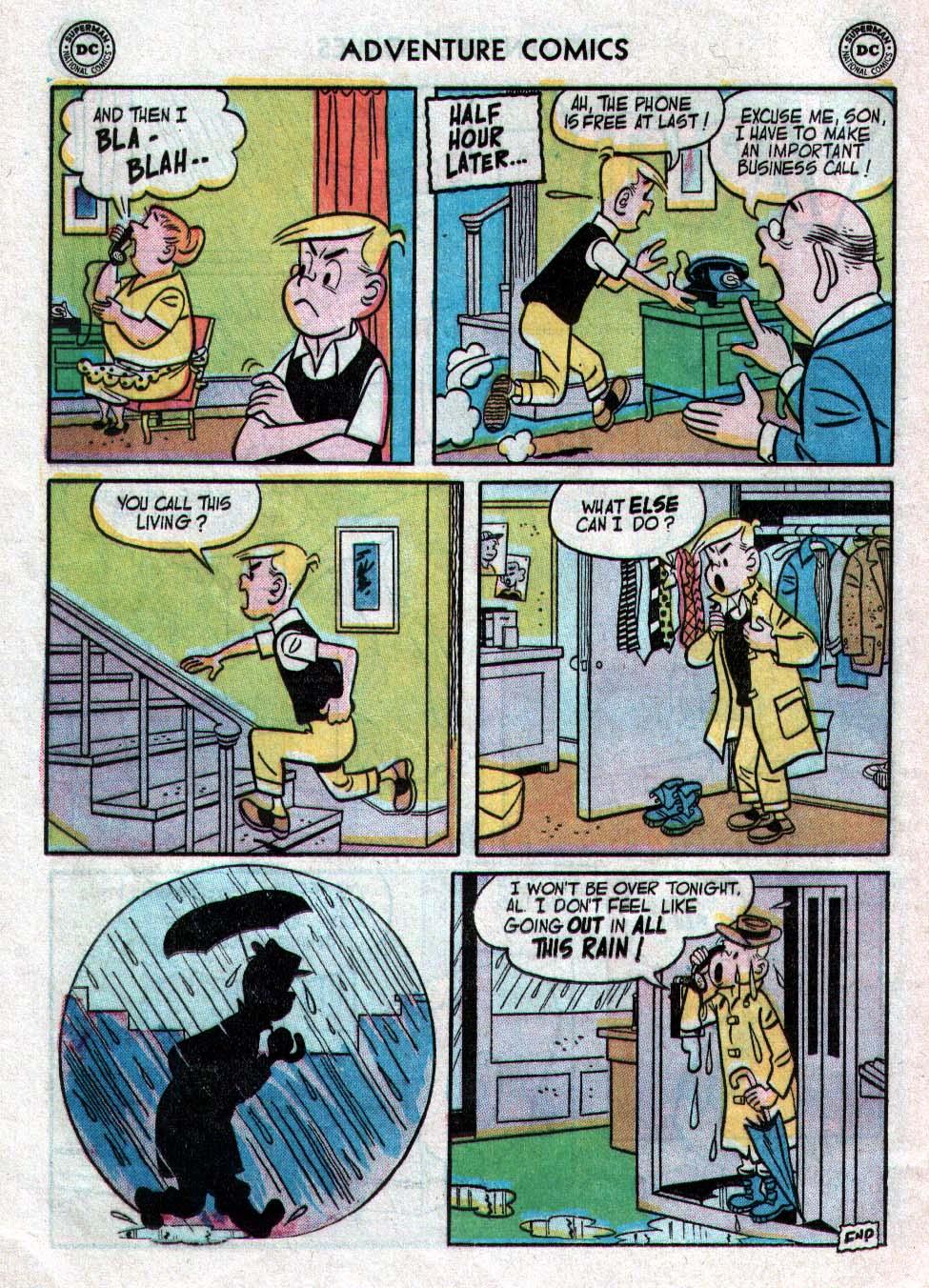 Read online Adventure Comics (1938) comic -  Issue #223 - 24