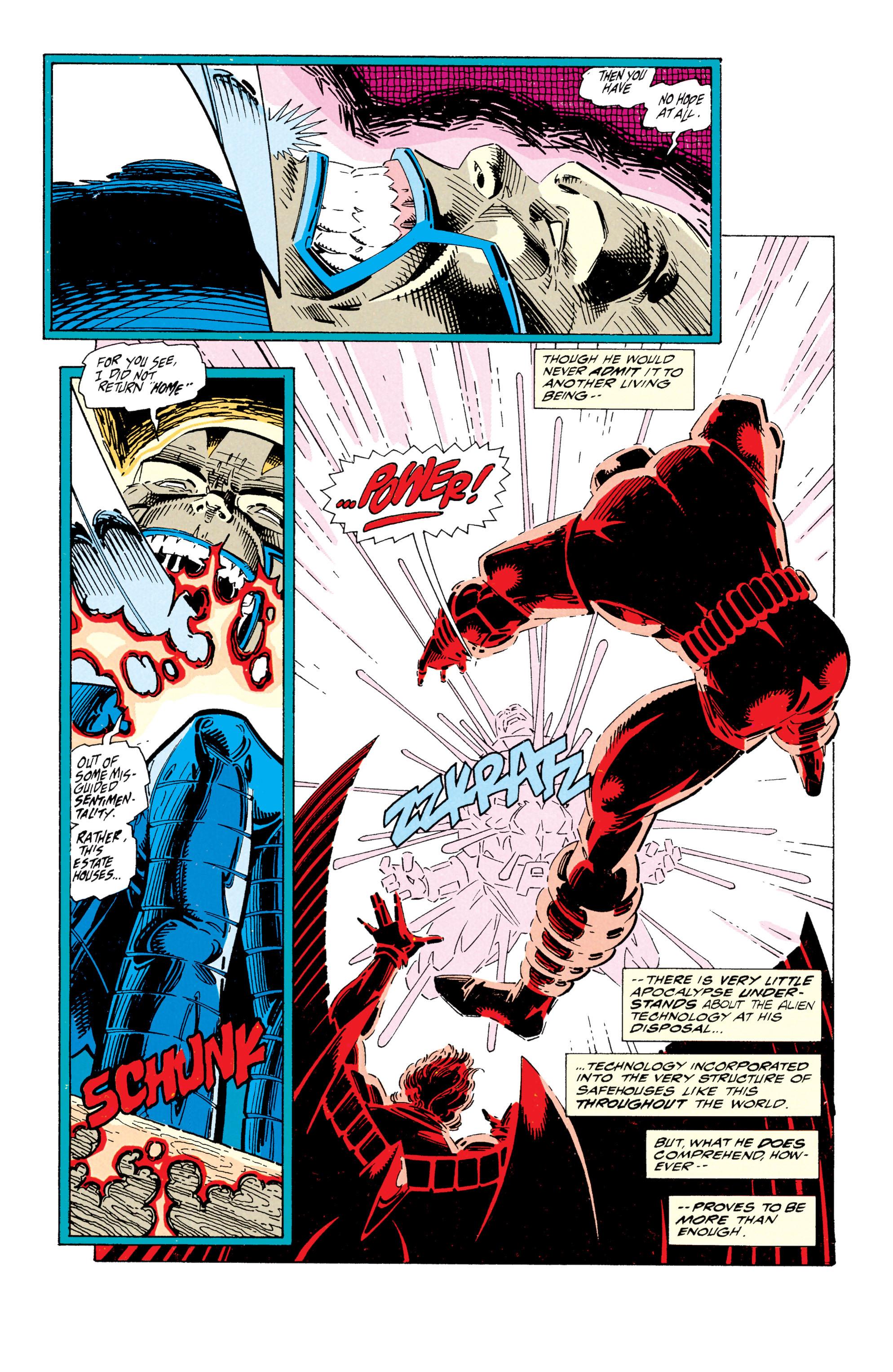 Read online Uncanny X-Men (1963) comic -  Issue #295 - 18