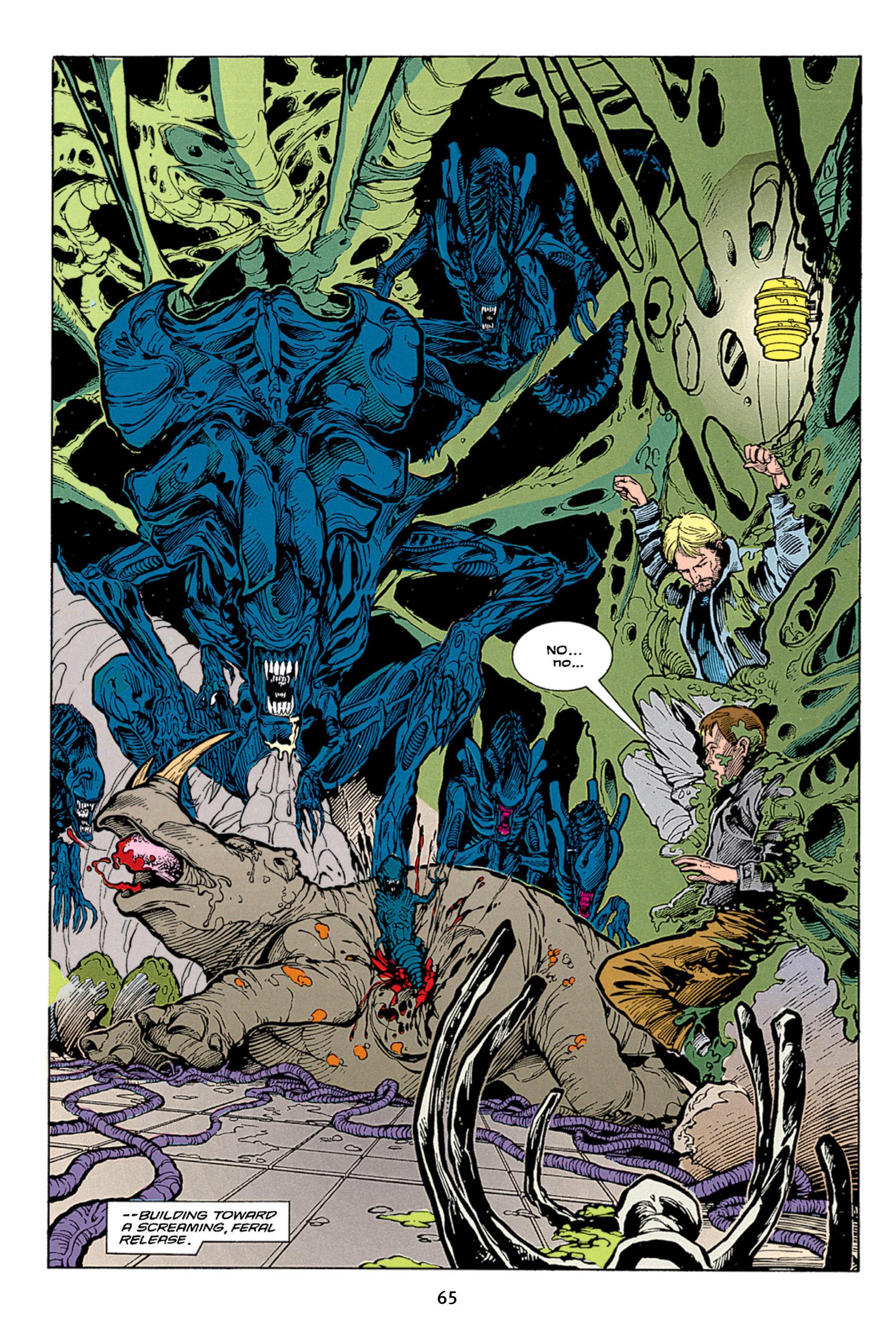 Read online Aliens vs. Predator Omnibus comic -  Issue # _TPB 1 Part 1 - 65