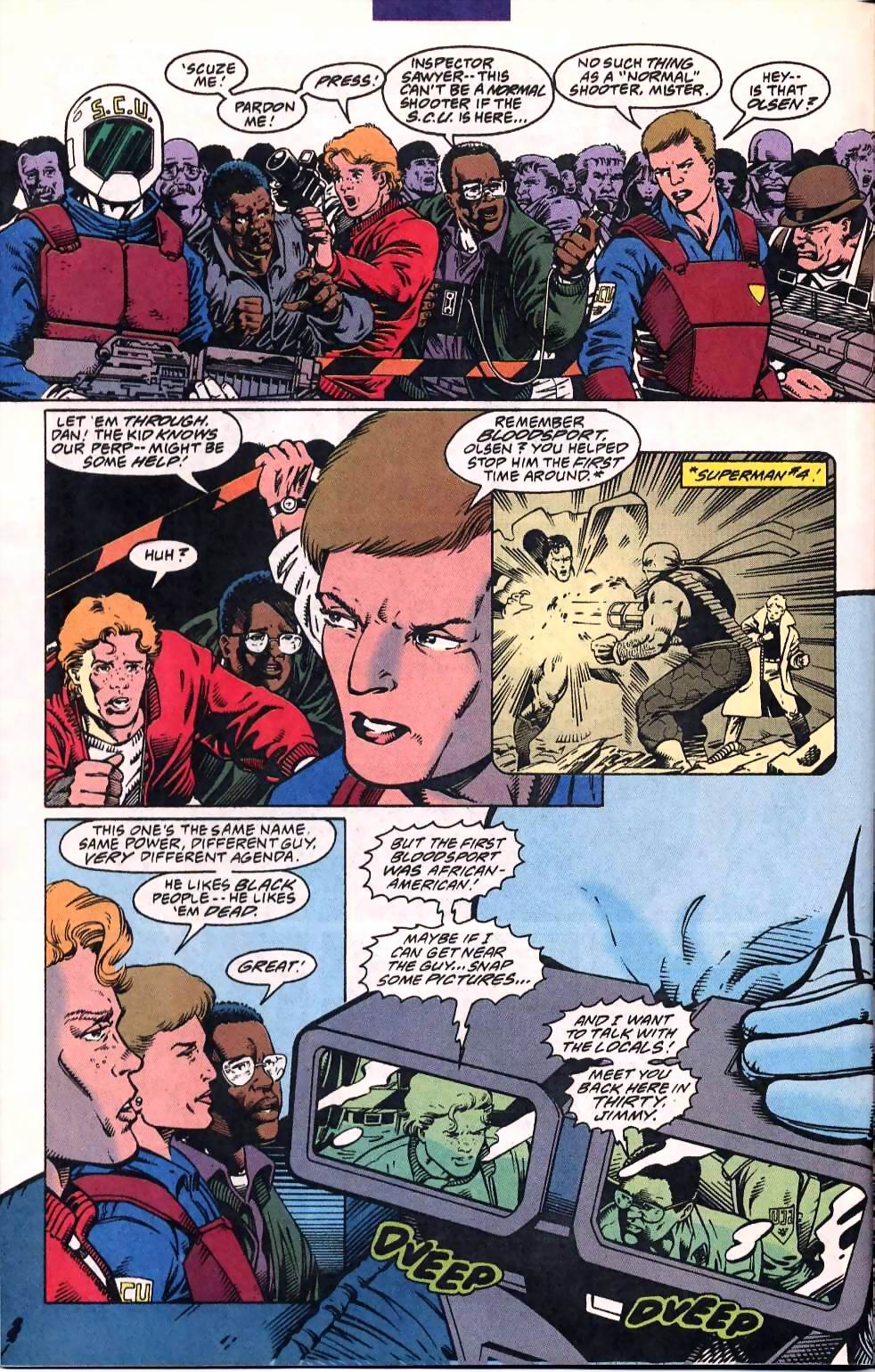 Read online Adventures of Superman (1987) comic -  Issue #507 - 16