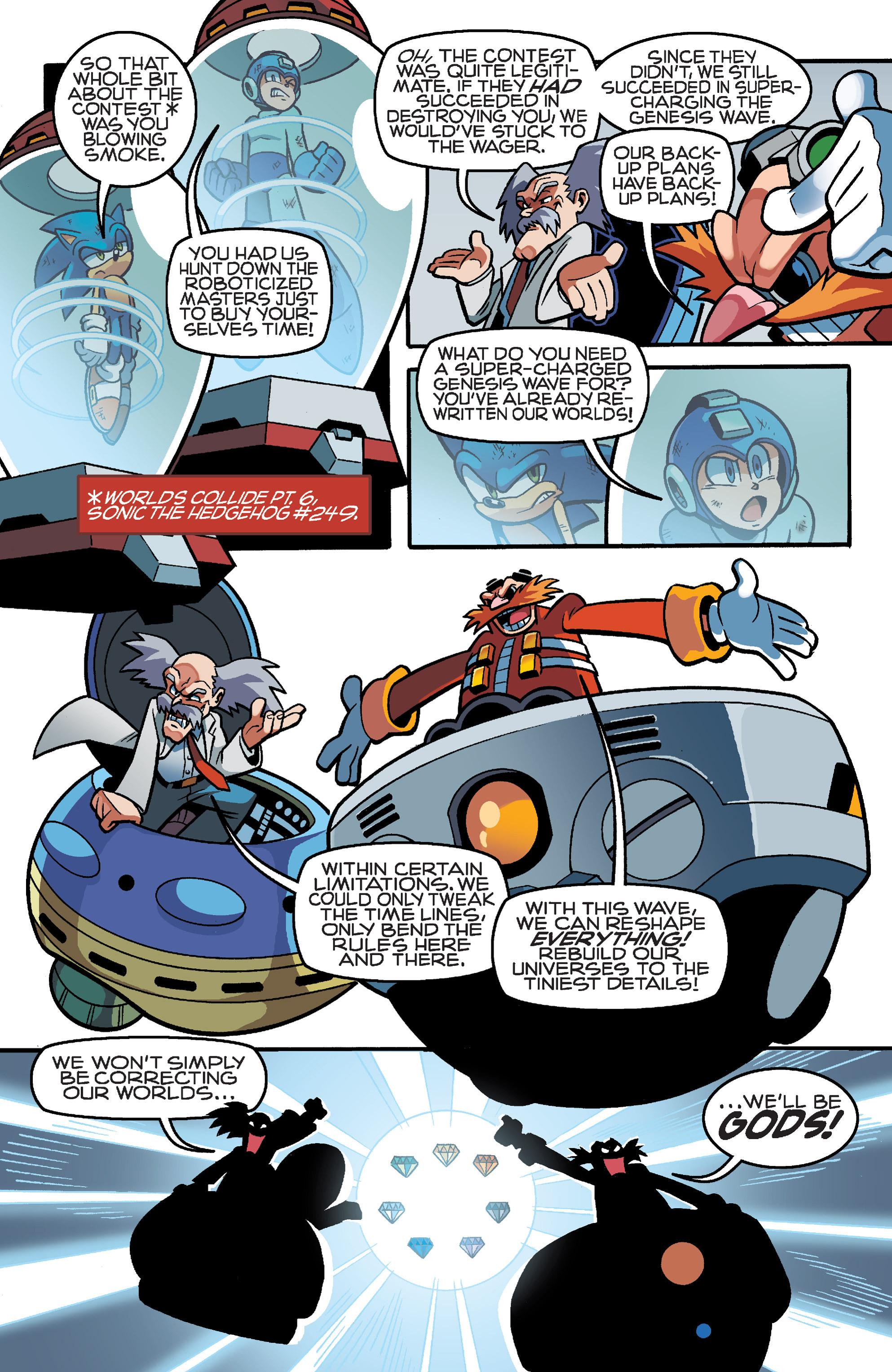 Read online Sonic Mega Man Worlds Collide comic -  Issue # Vol 3 - 90