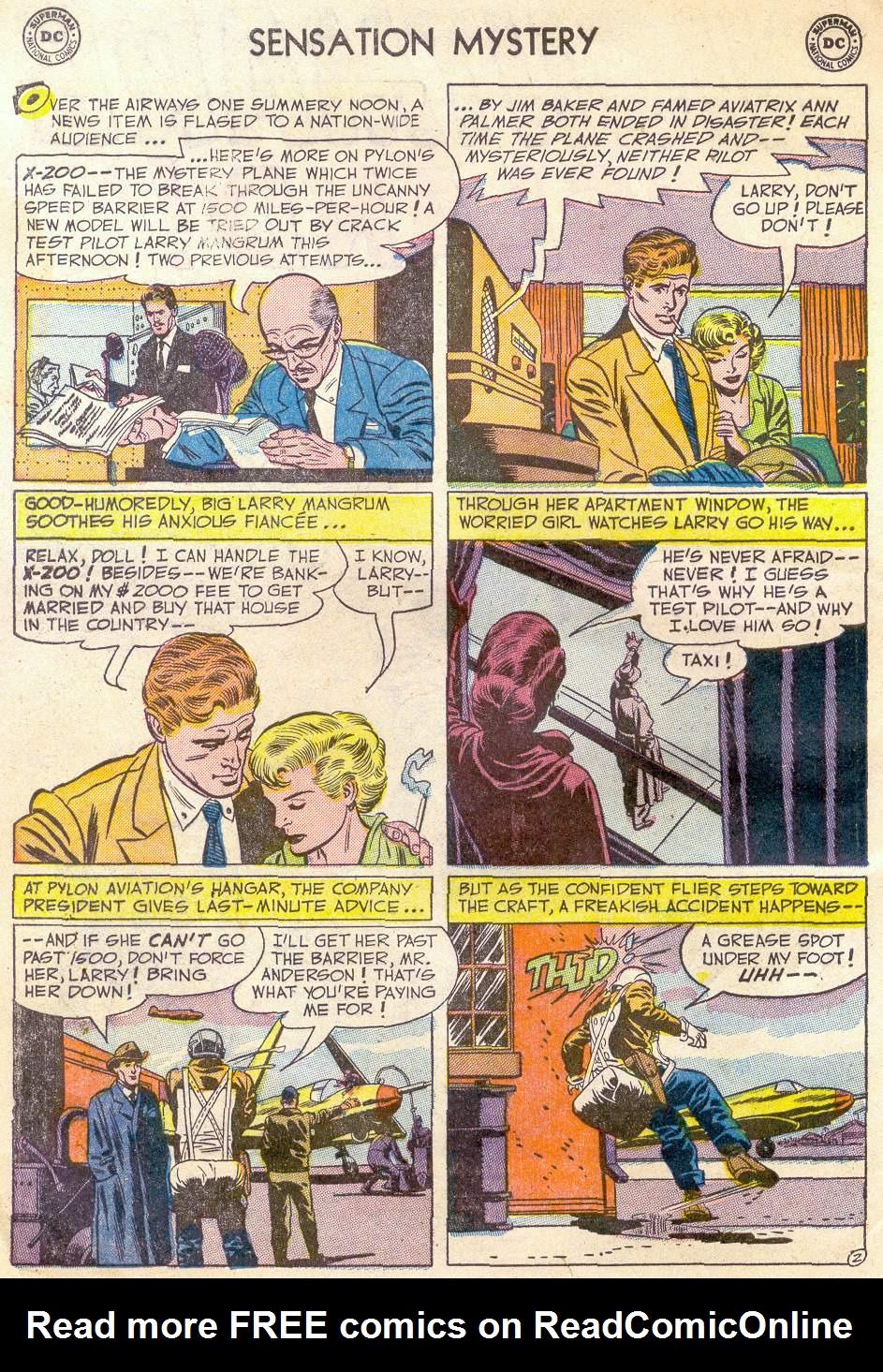 Read online Sensation (Mystery) Comics comic -  Issue #110 - 4
