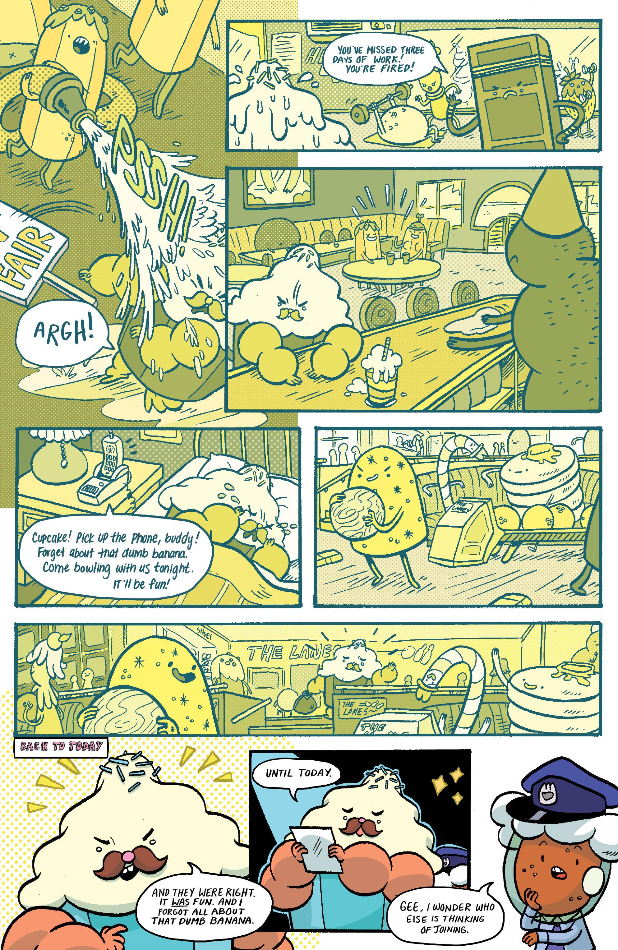 Read online Adventure Time: Banana Guard Academ comic -  Issue #1 - 14