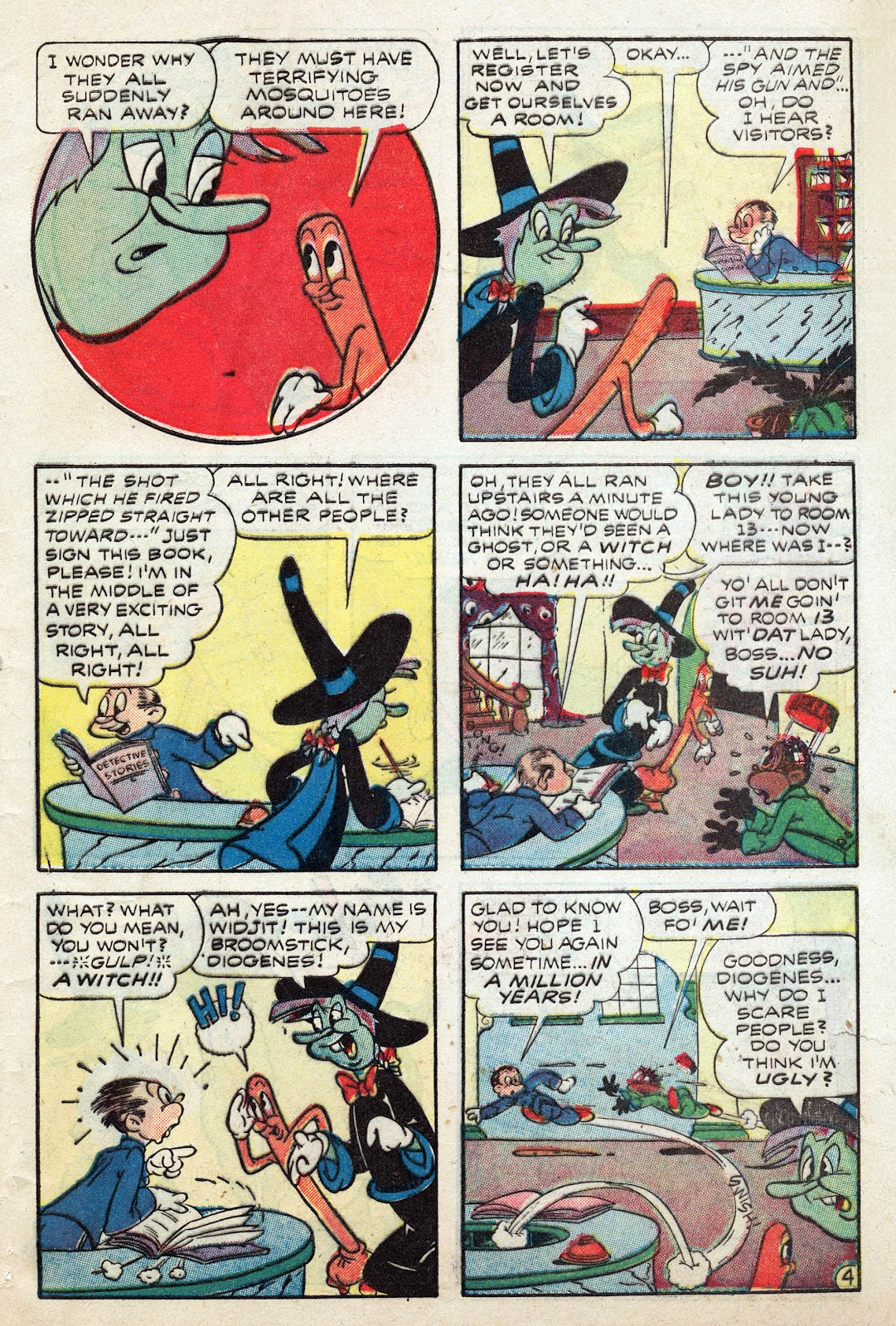 Read online Comedy Comics (1942) comic -  Issue #25 - 45