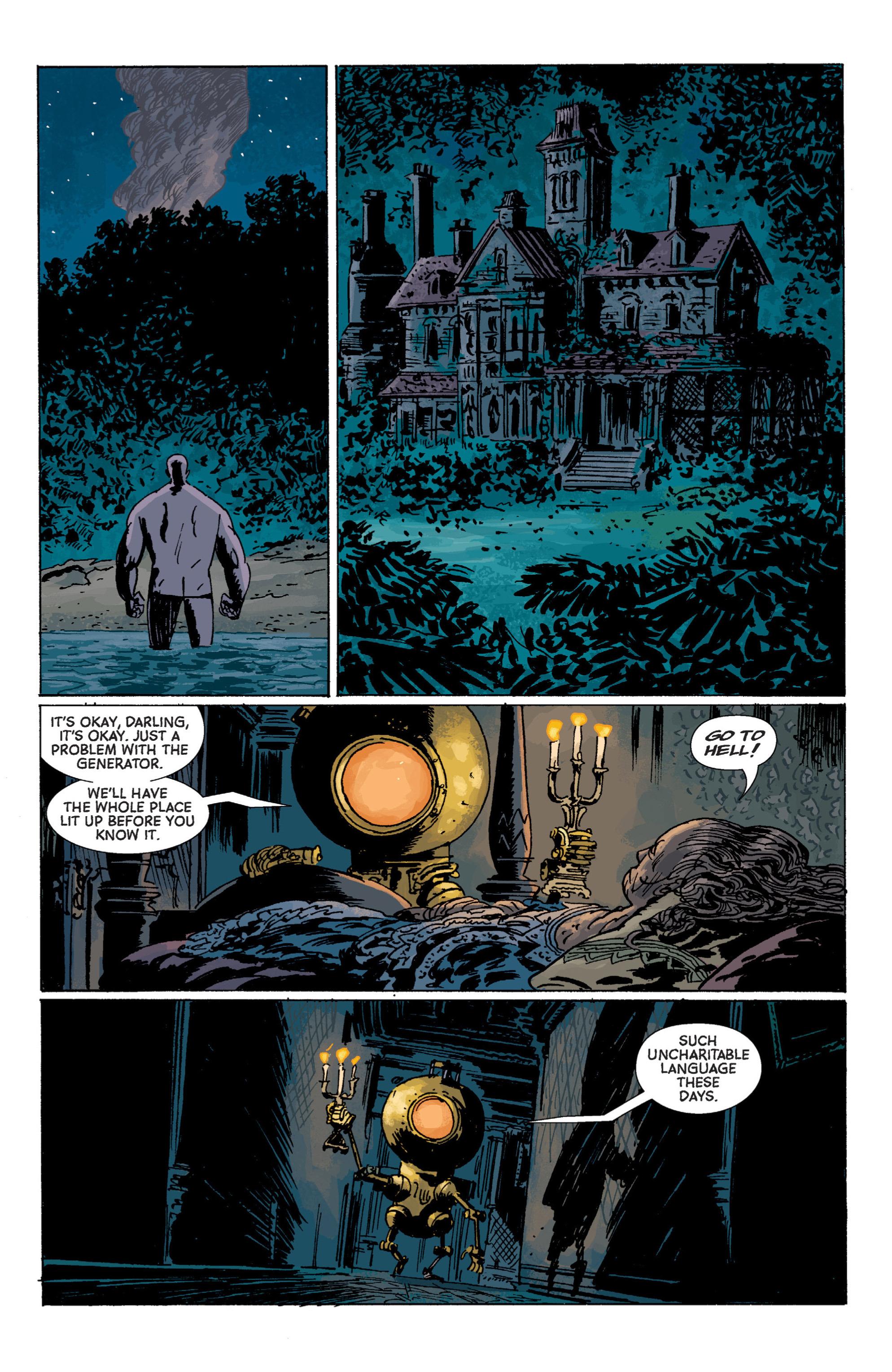 Read online B.P.R.D. (2003) comic -  Issue # TPB 7 - 127