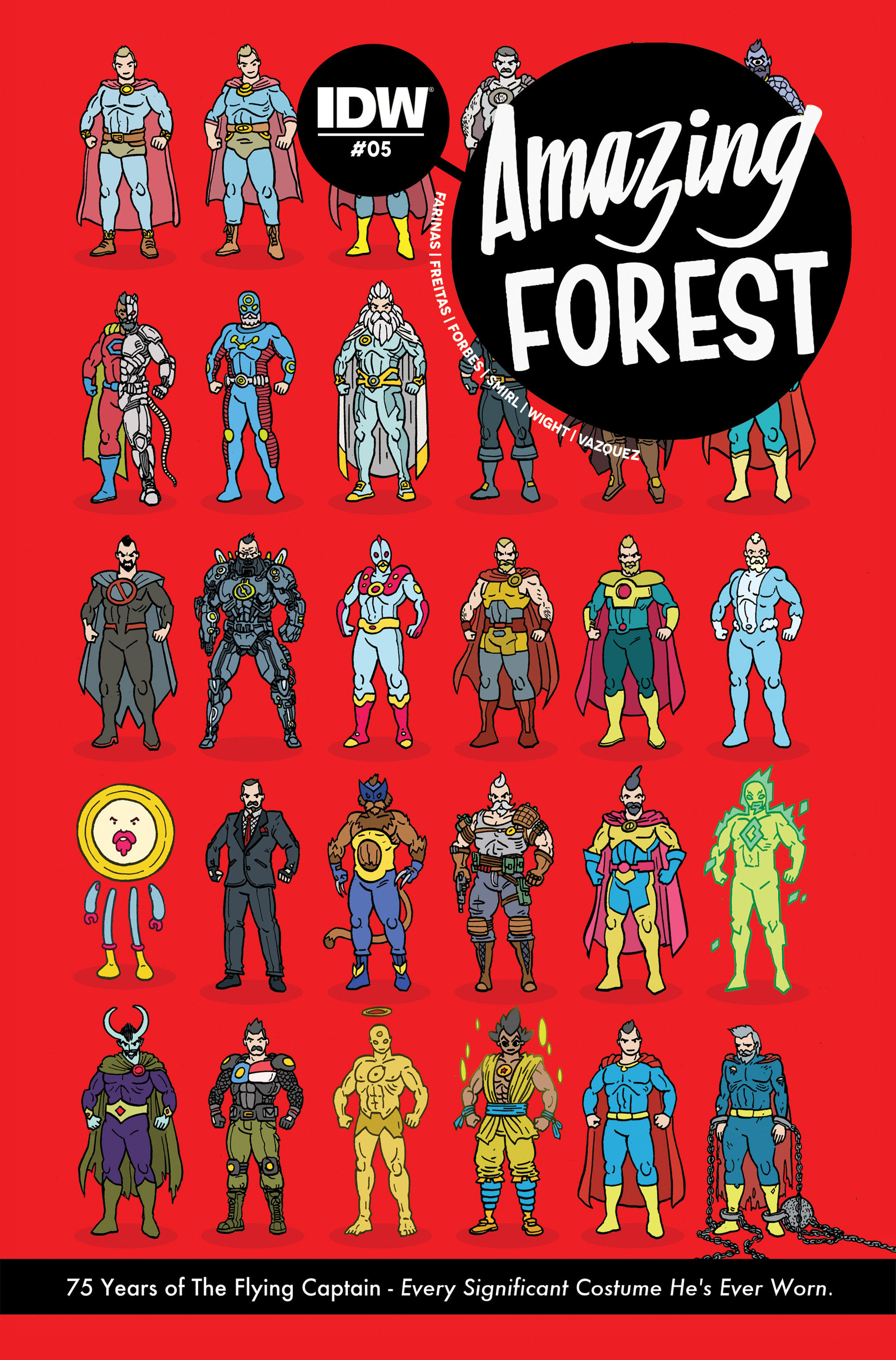 Read online Amazing Forest (2016) comic -  Issue #5 - 1
