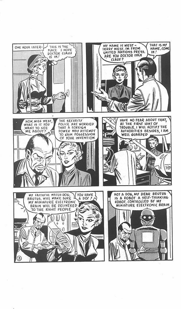 Read online Golden-Age Men of Mystery comic -  Issue #11 - 32