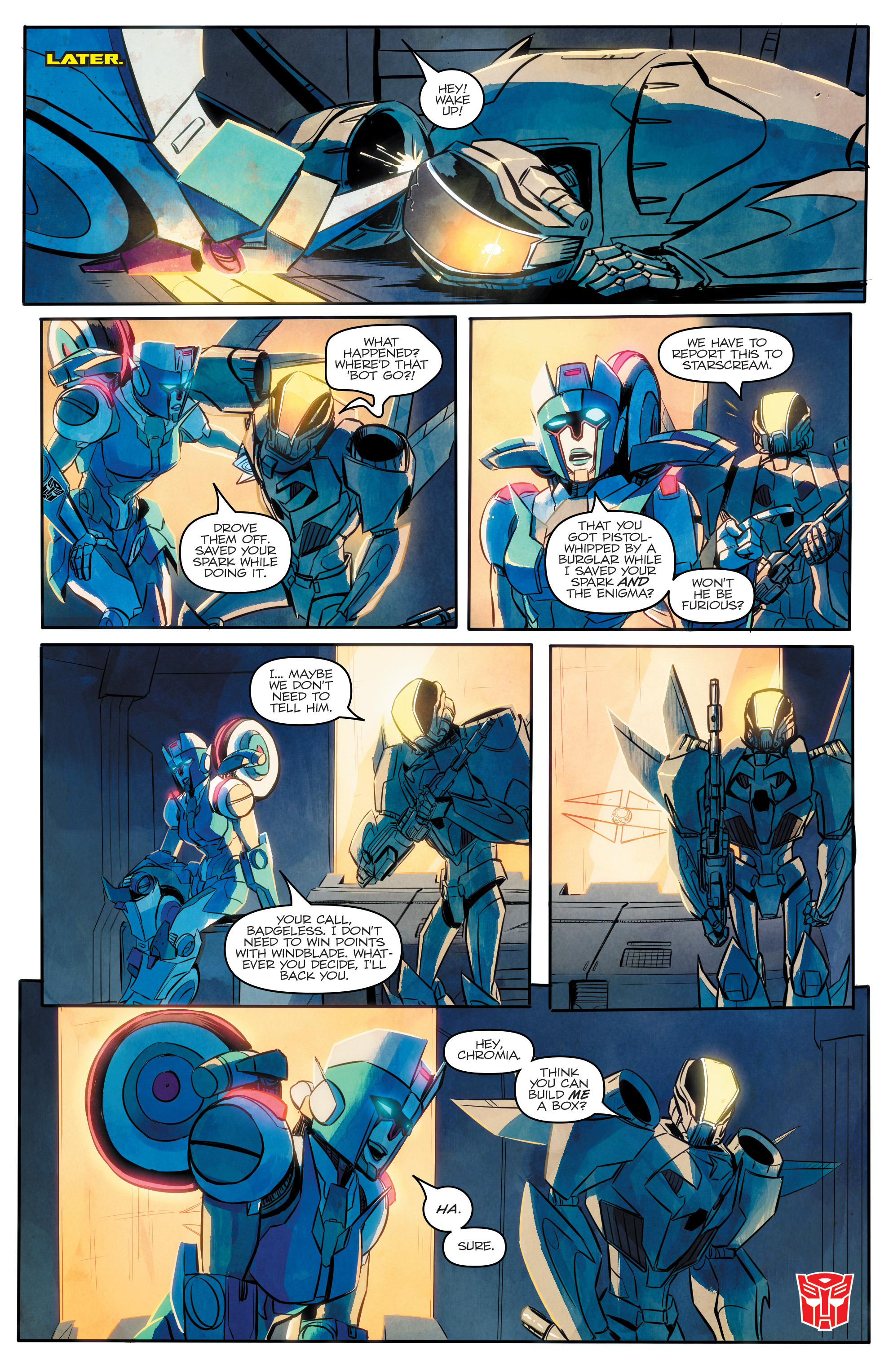 Read online Transformers: Combiner Hunters comic -  Issue # Full - 24