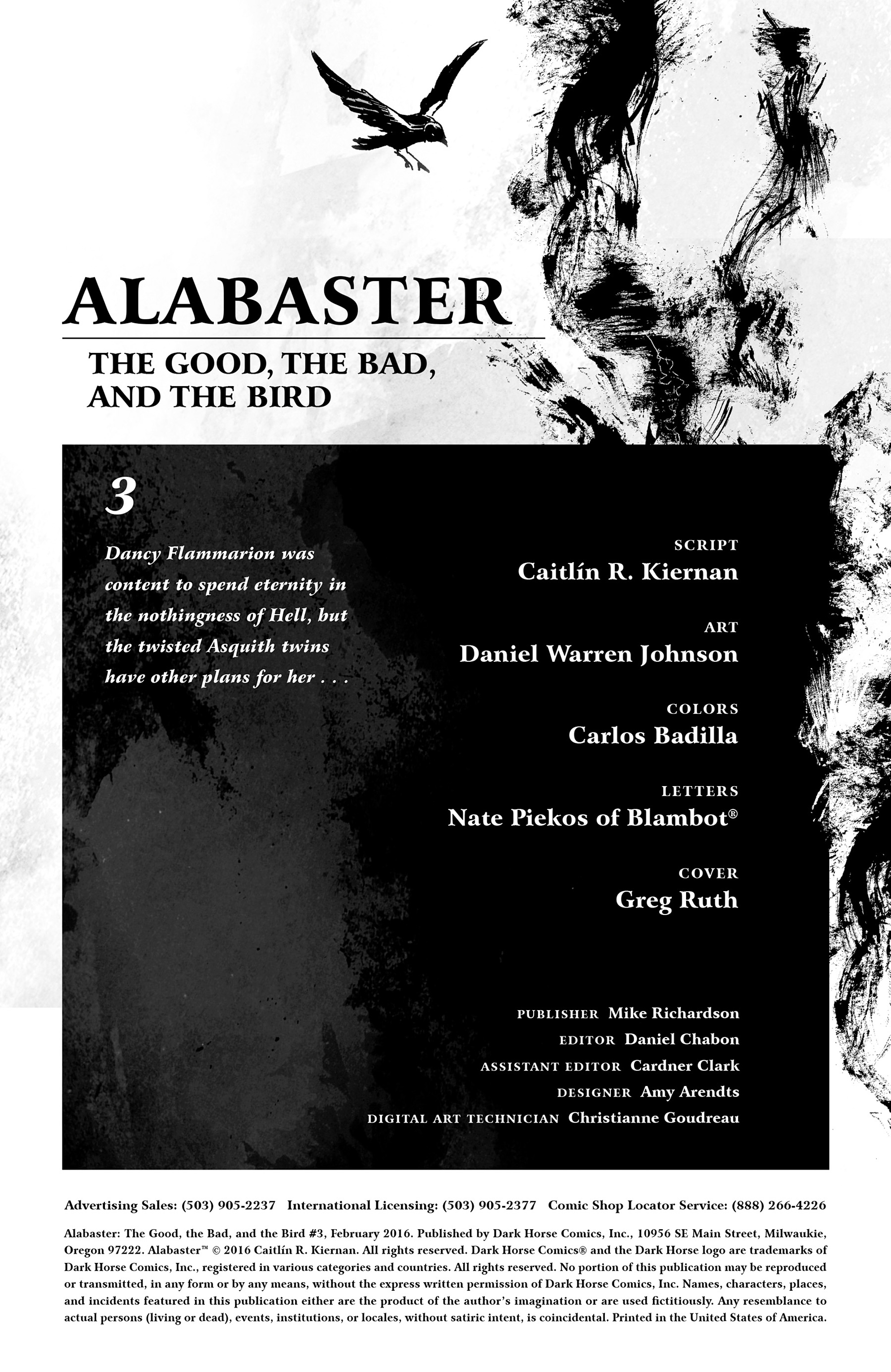 Read online Alabaster: The Good, the Bad and the Bird comic -  Issue #3 - 2