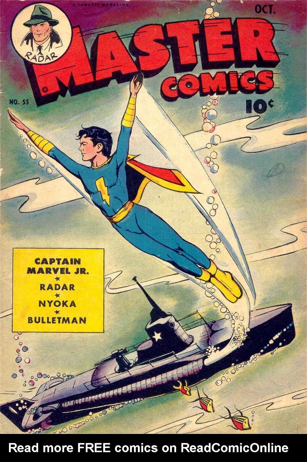 Master Comics 55 Page 1