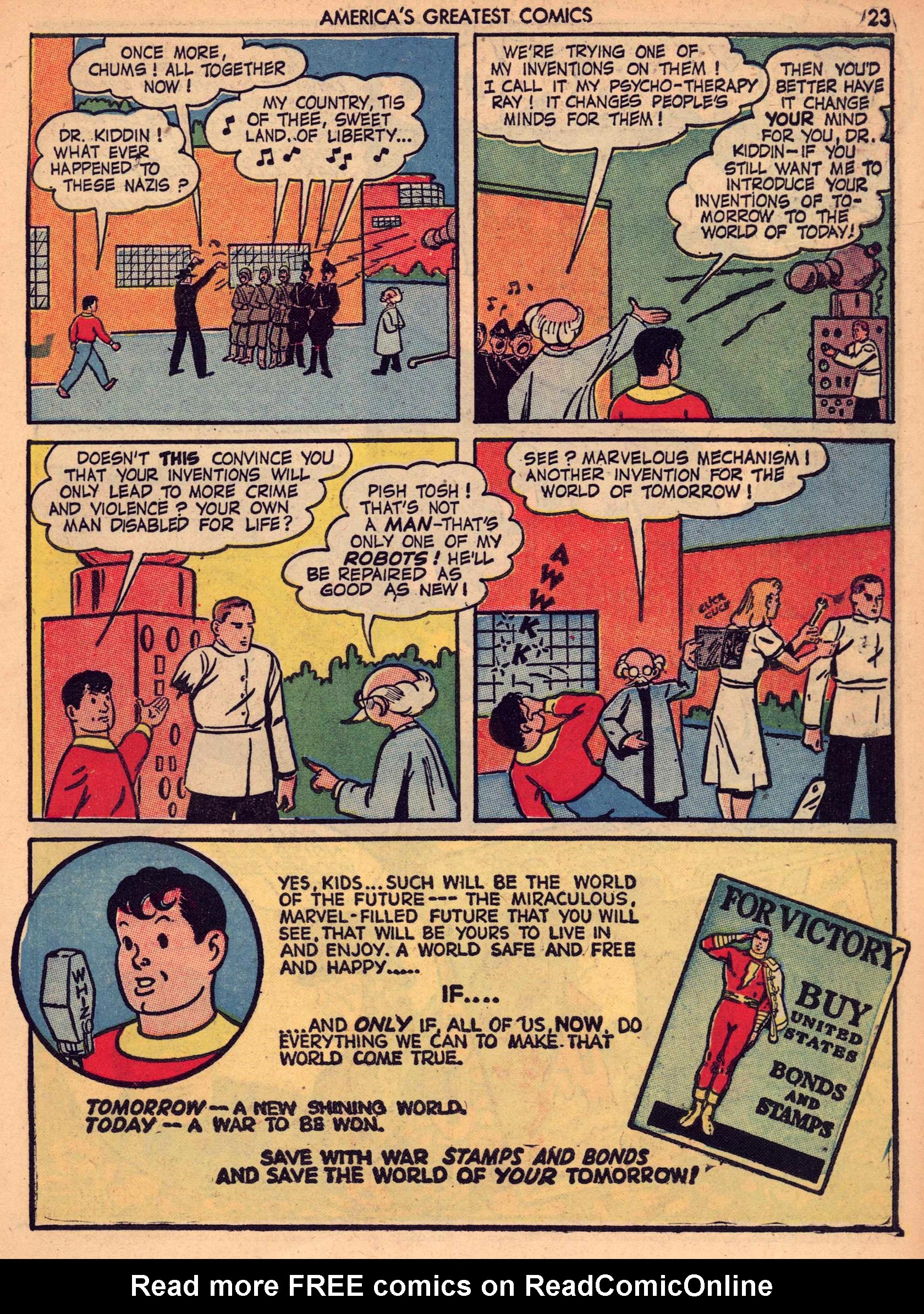 Read online America's Greatest Comics comic -  Issue #7 - 22