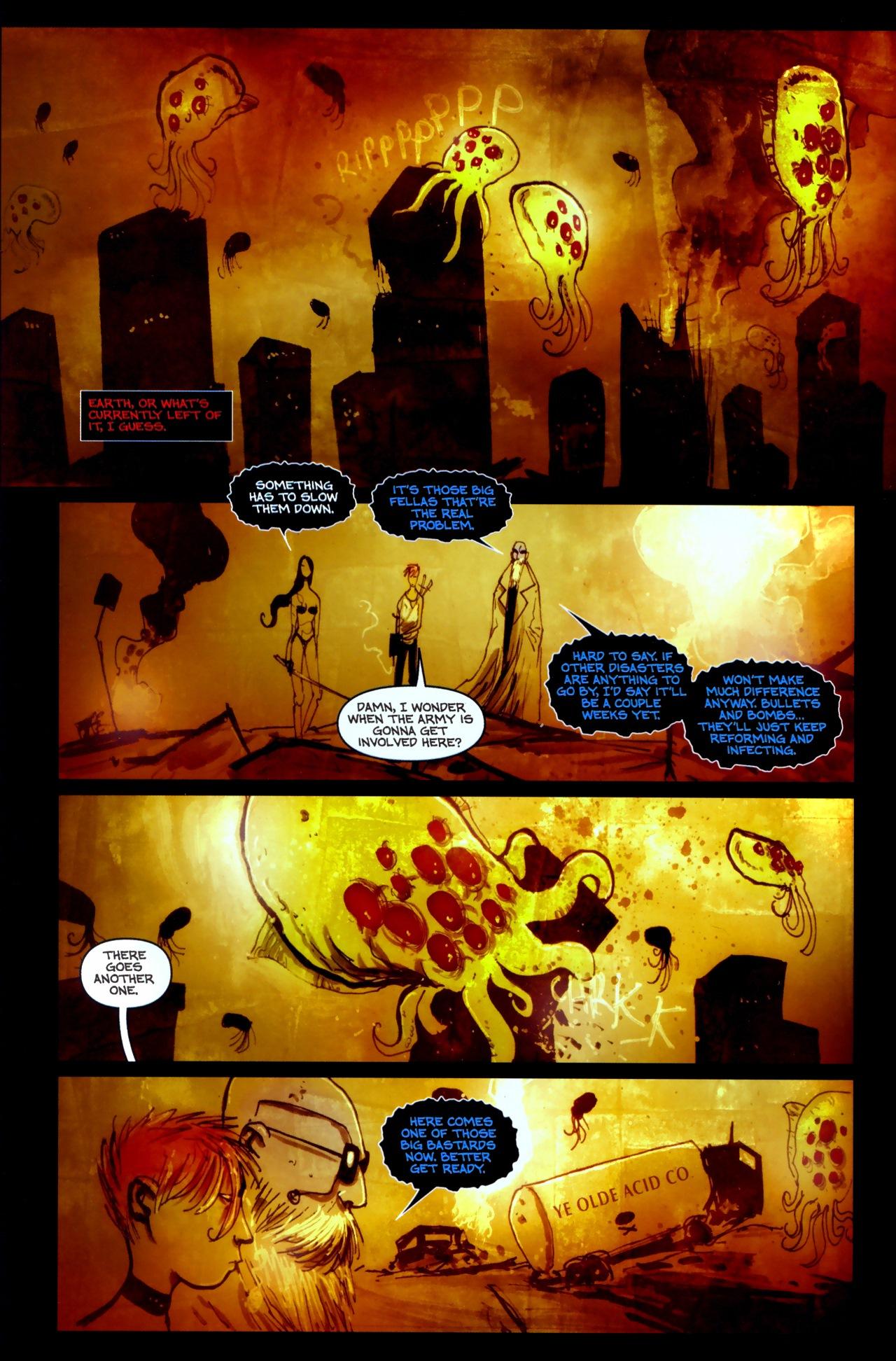 Read online Wormwood: Gentleman Corpse comic -  Issue #11 - 11