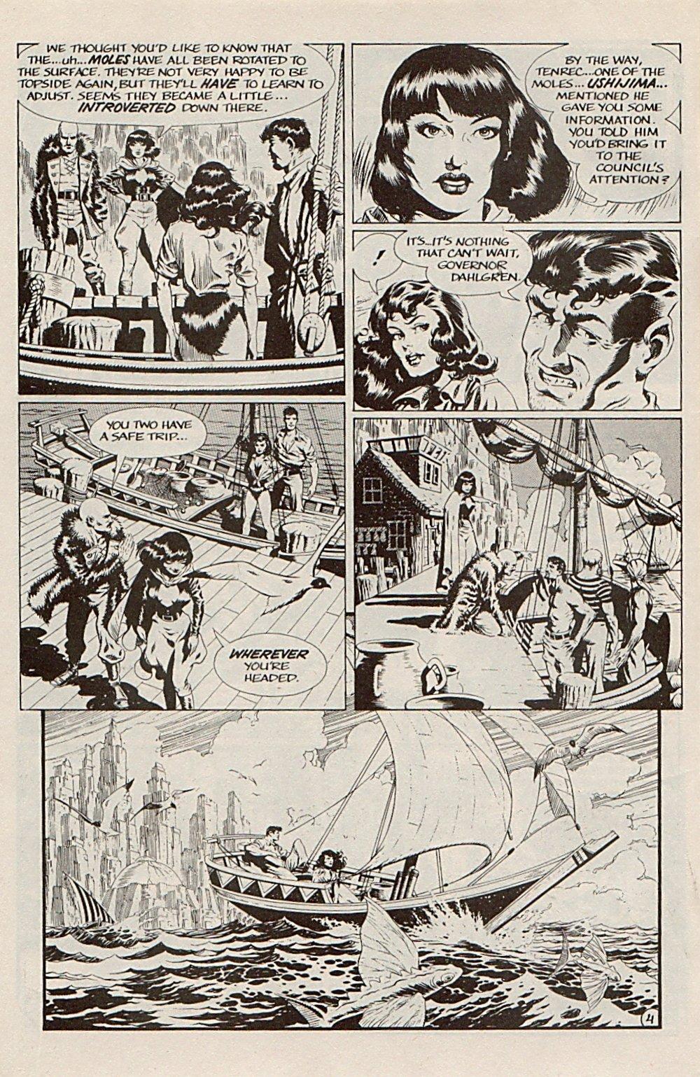 Read online Xenozoic Tales comic -  Issue #5 - 7