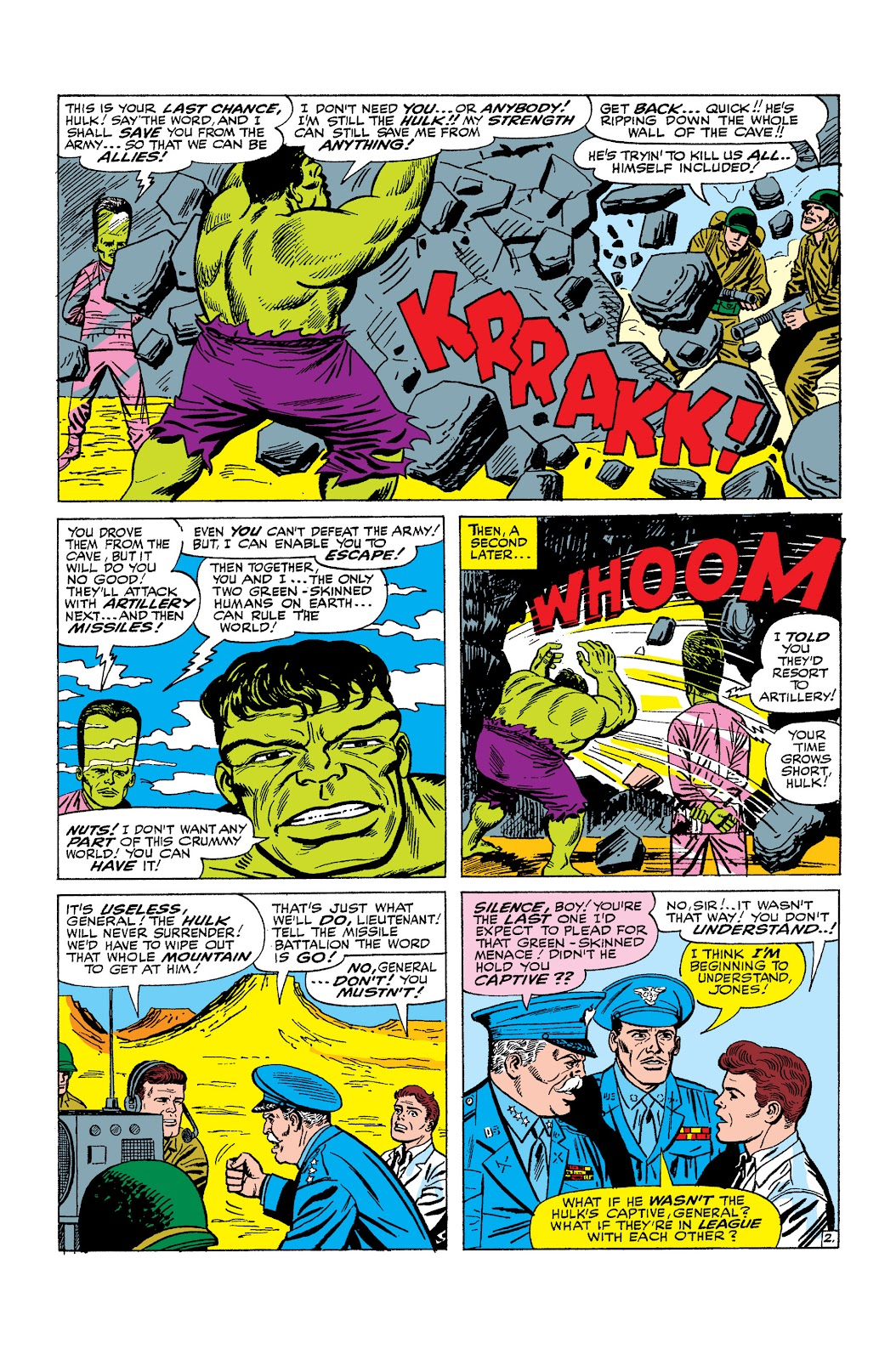 Read online Marvel Masterworks: The Incredible Hulk comic -  Issue # TPB 2 (Part 2) - 58