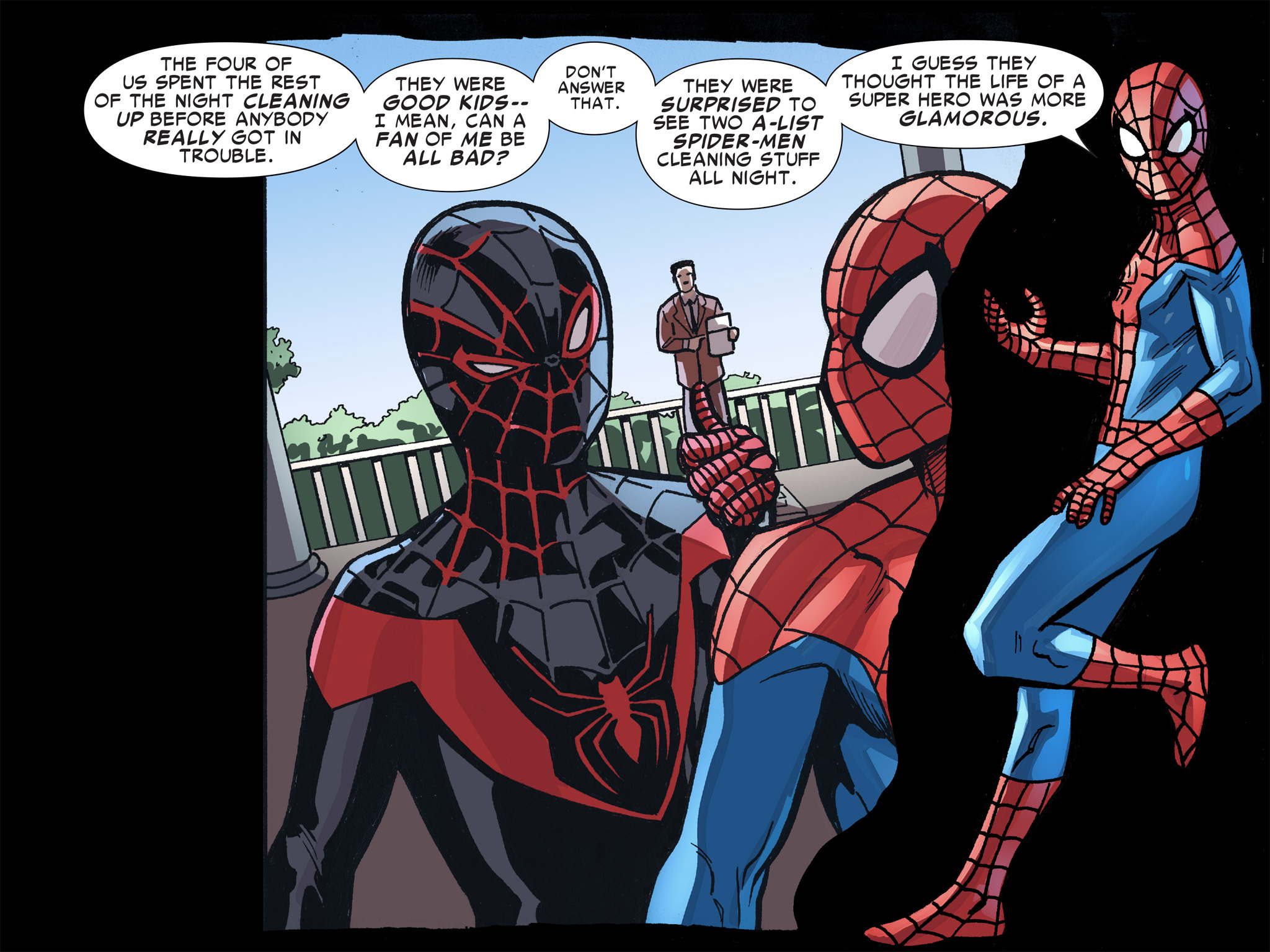 Read online Ultimate Spider-Man (Infinite Comics) (2016) comic -  Issue #8 - 56
