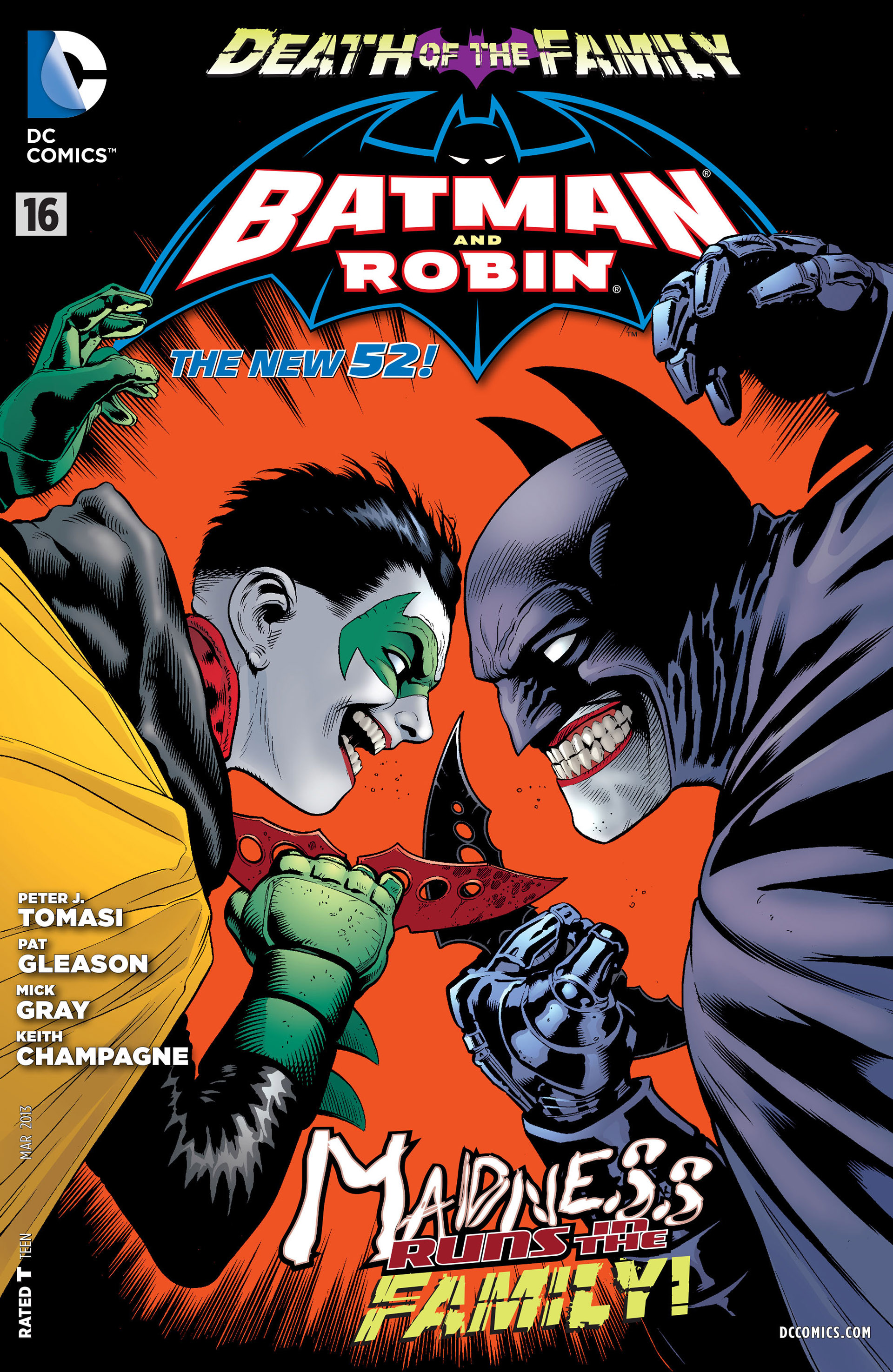 Read online Batman and Robin (2011) comic -  Issue #16 - 1