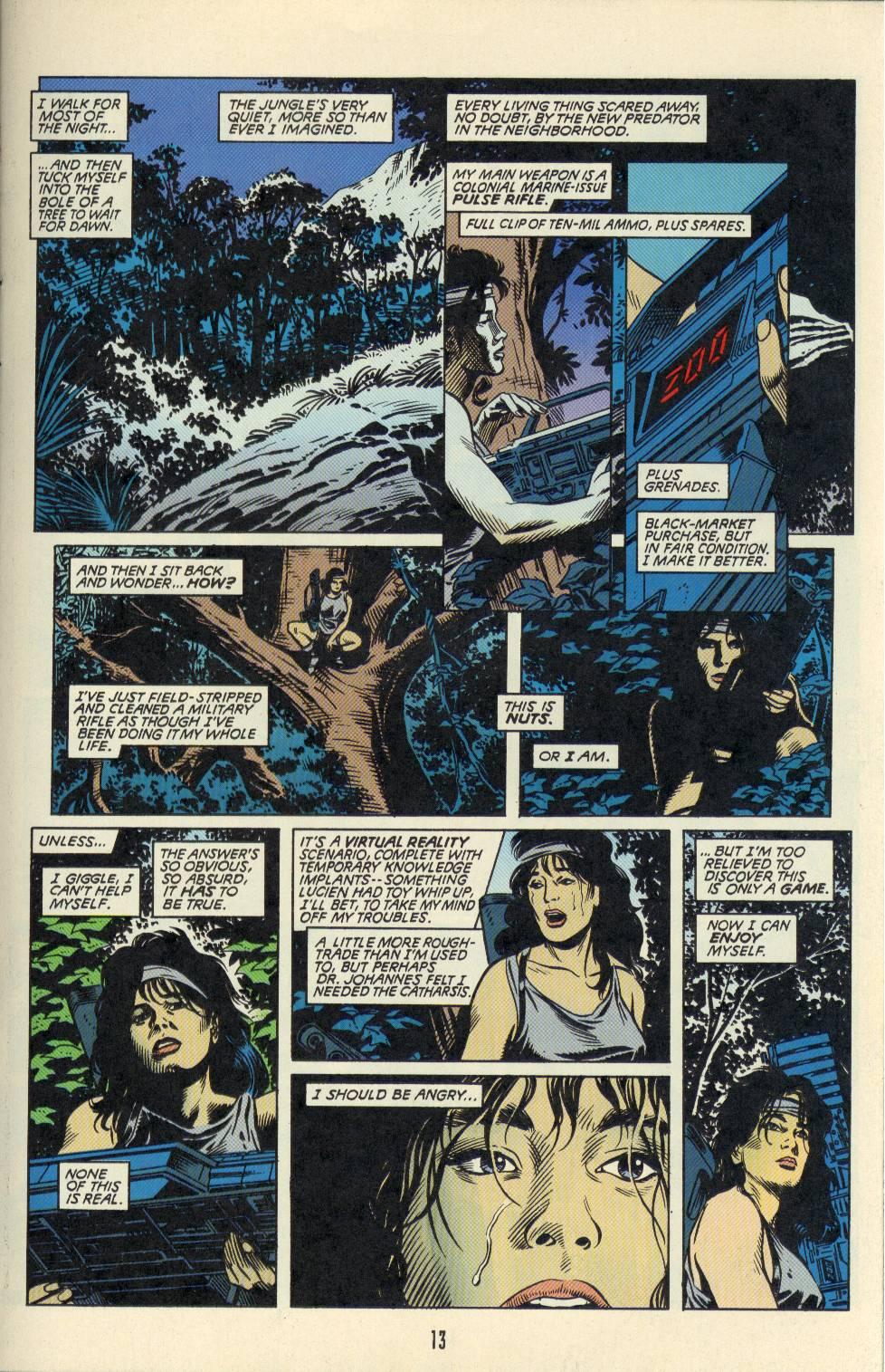 Read online Aliens/Predator: The Deadliest of the Species comic -  Issue #2 - 14