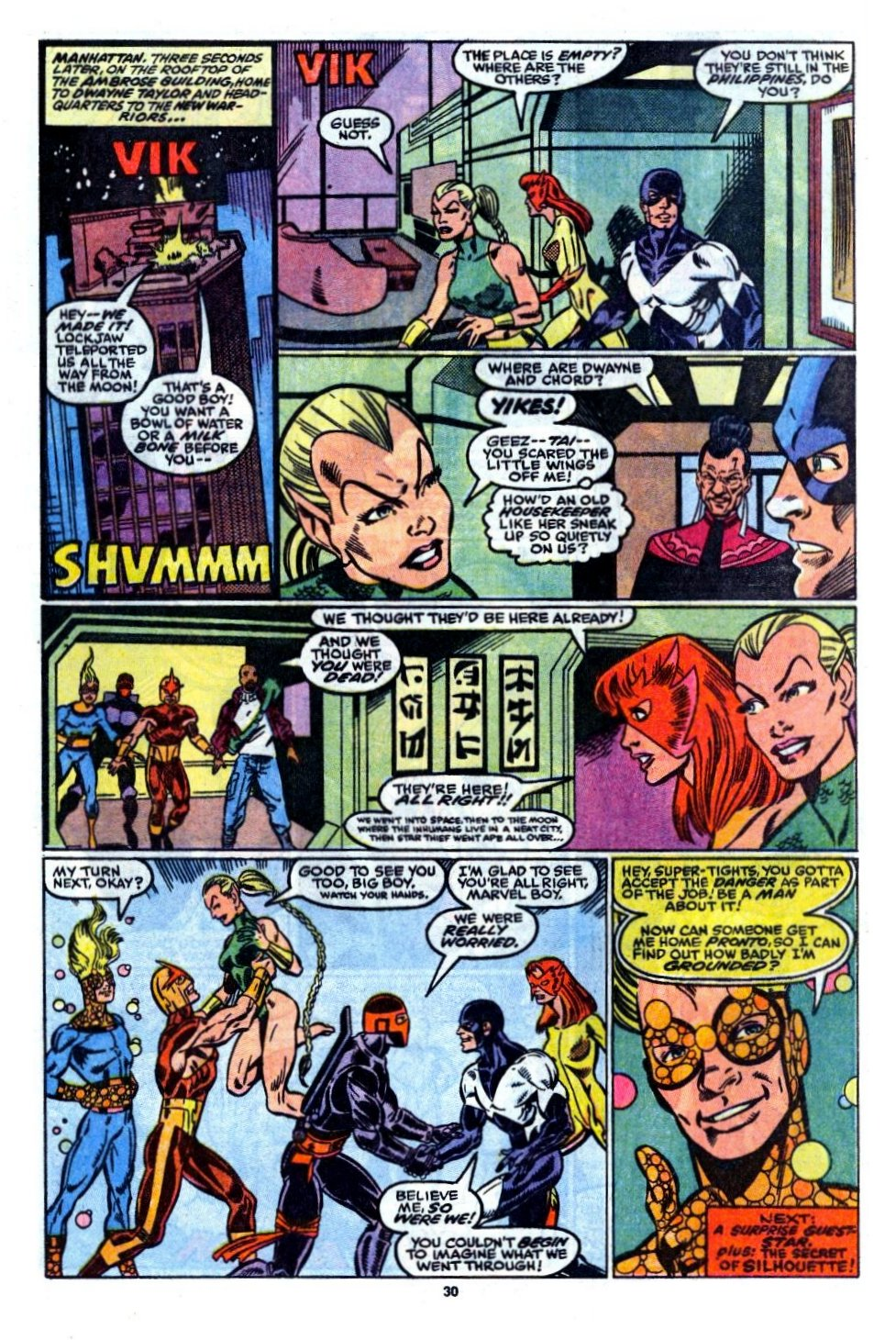 The New Warriors Issue #6 #10 - English 23