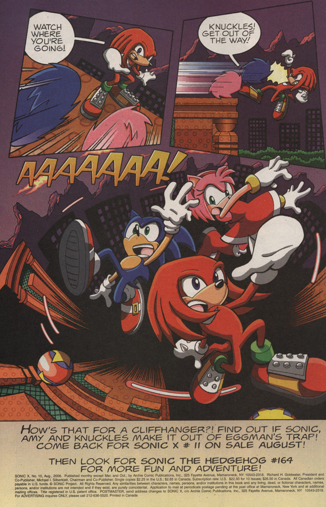 Read online Sonic X comic -  Issue #10 - 34