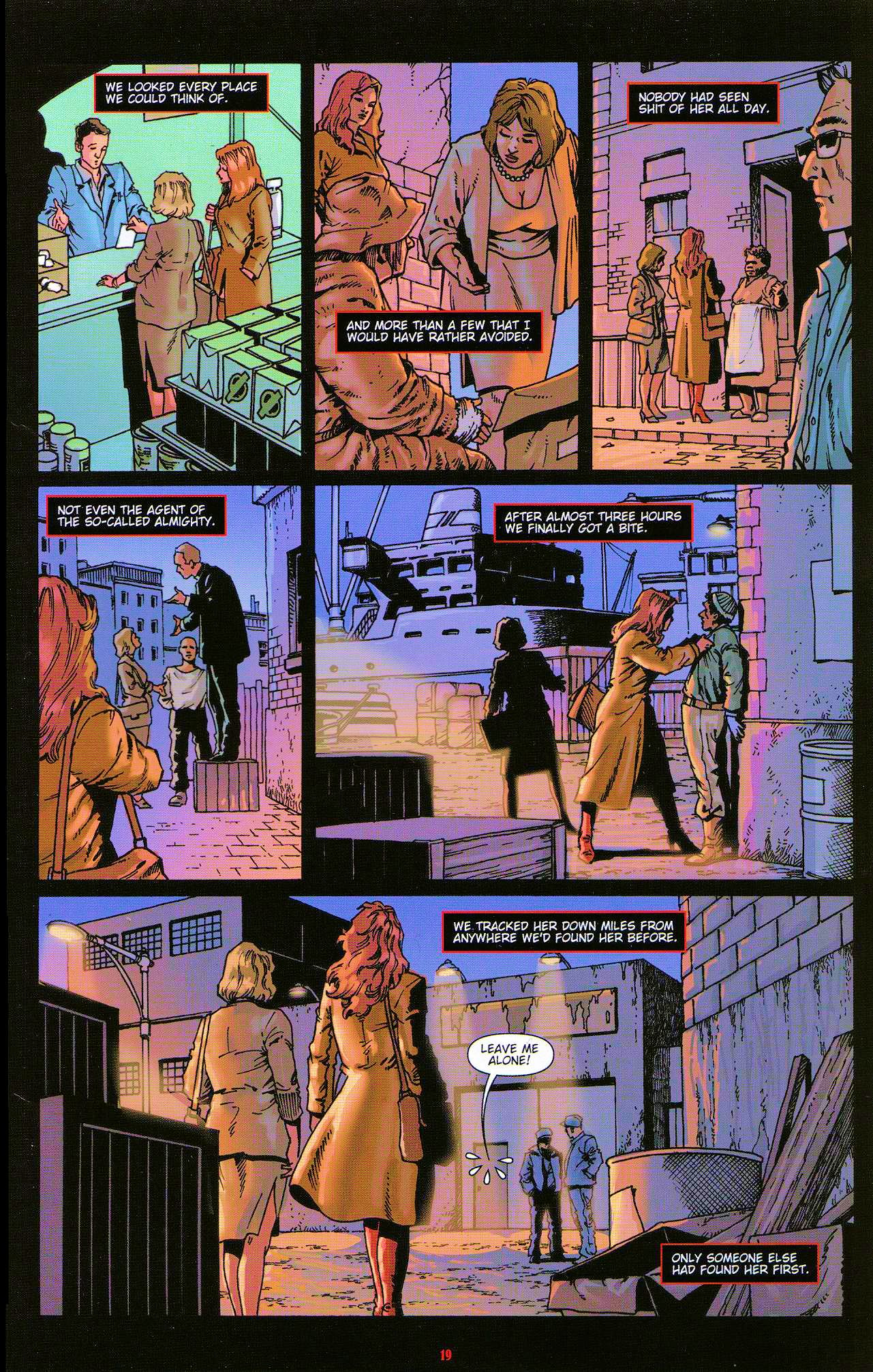 Read online Dominatrix comic -  Issue #5 - 21