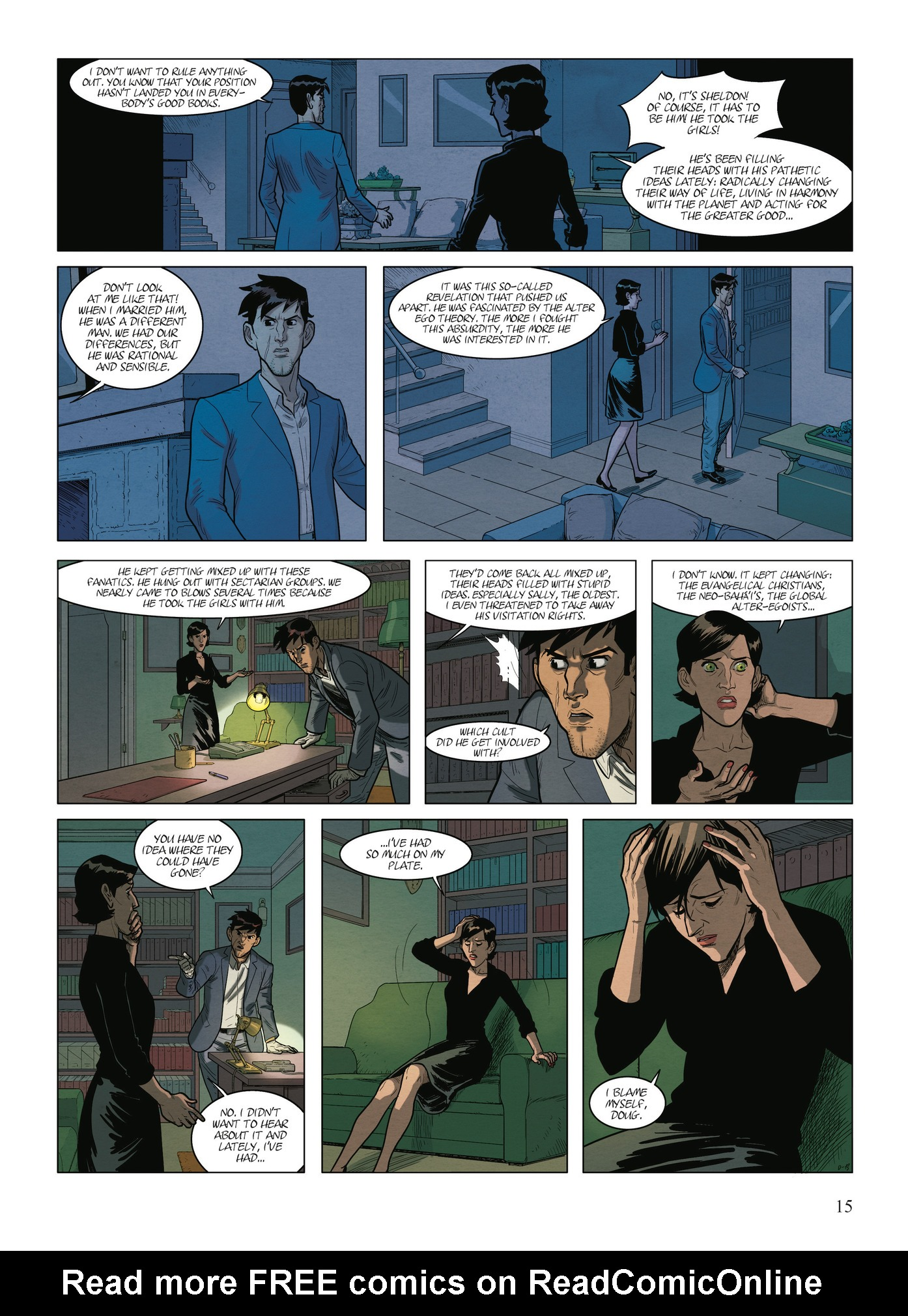Read online Alter Ego comic -  Issue #9 - 17