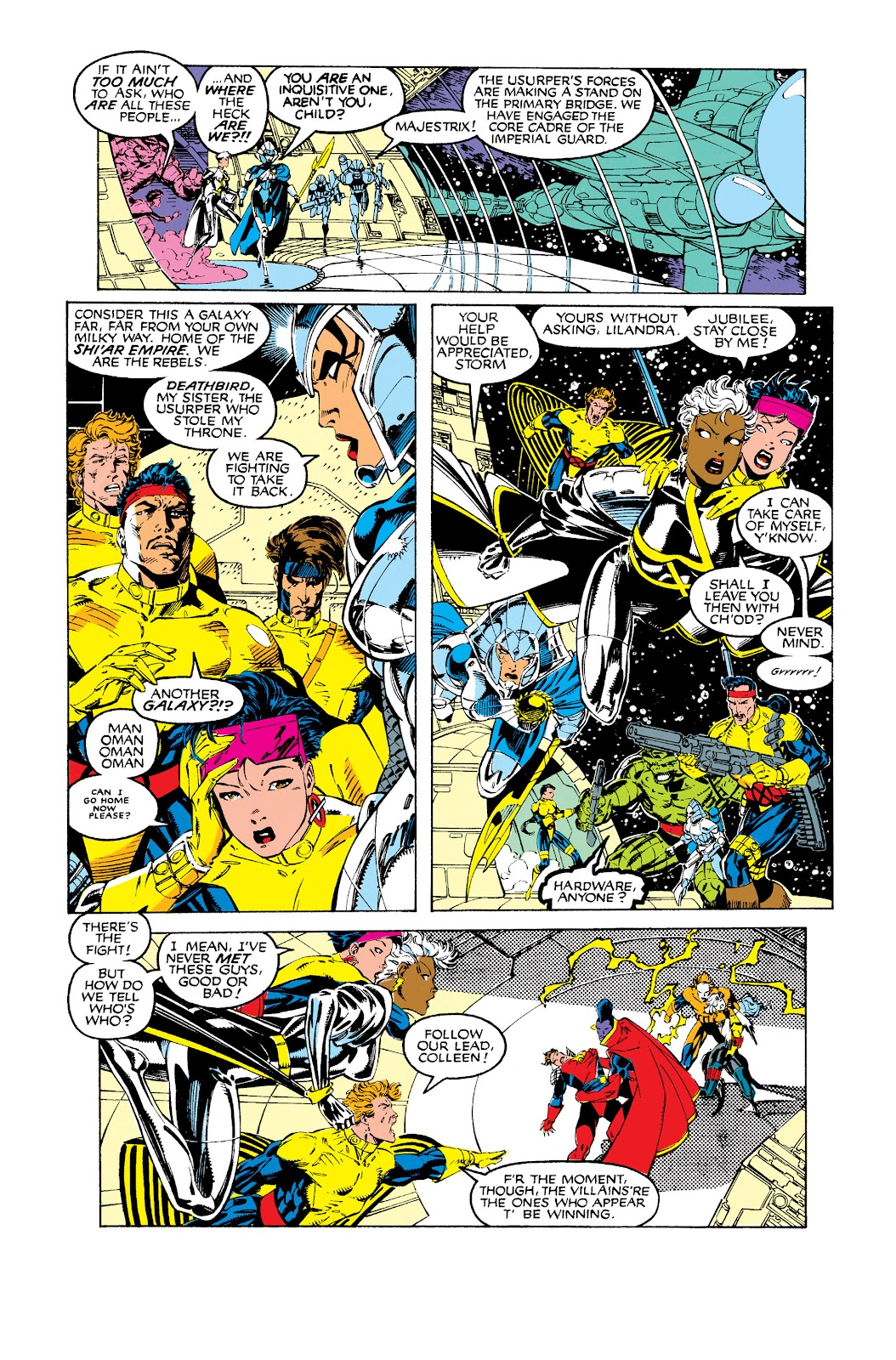 Uncanny X-Men (1963) issue 275 - Page 9