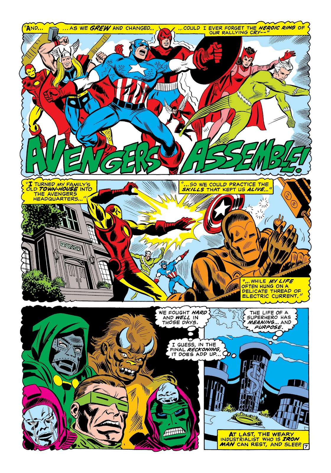 Read online Marvel Masterworks: The Invincible Iron Man comic -  Issue # TPB 7 (Part 2) - 56