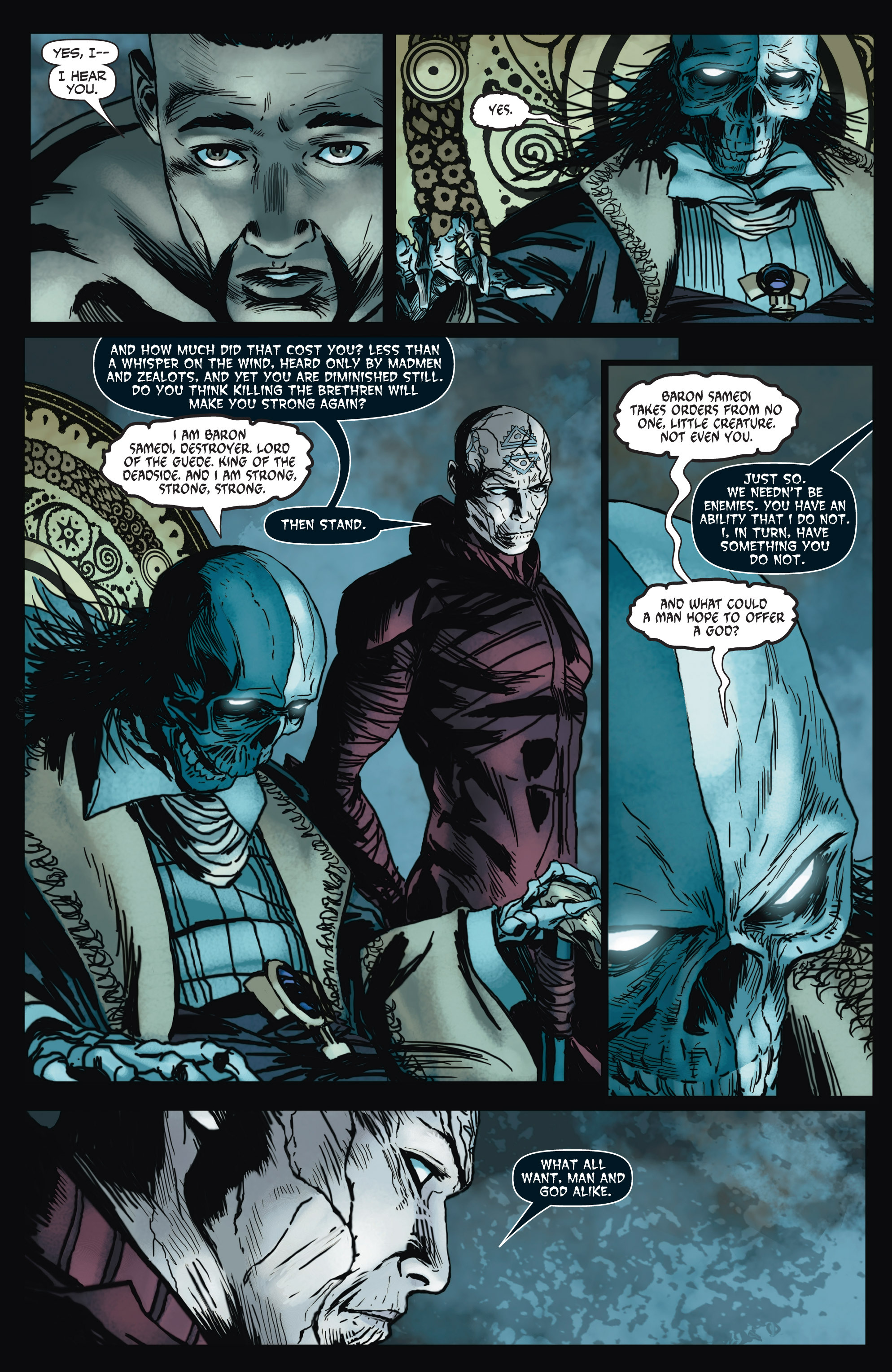 Read online Shadowman (2012) comic -  Issue #6 - 5