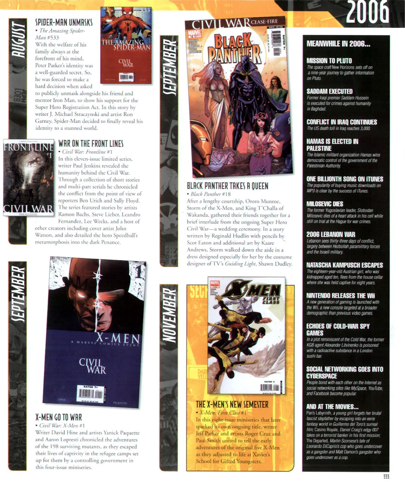 Read online Marvel Chronicle comic -  Issue # TPB (Part 3) - 109