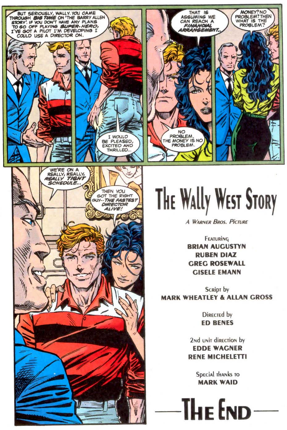 Read online The Flash (1987) comic -  Issue # _Annual 7 - 55