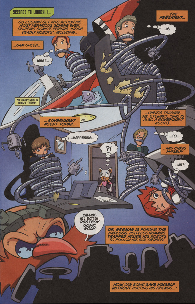 Read online Sonic X comic -  Issue #4 - 5