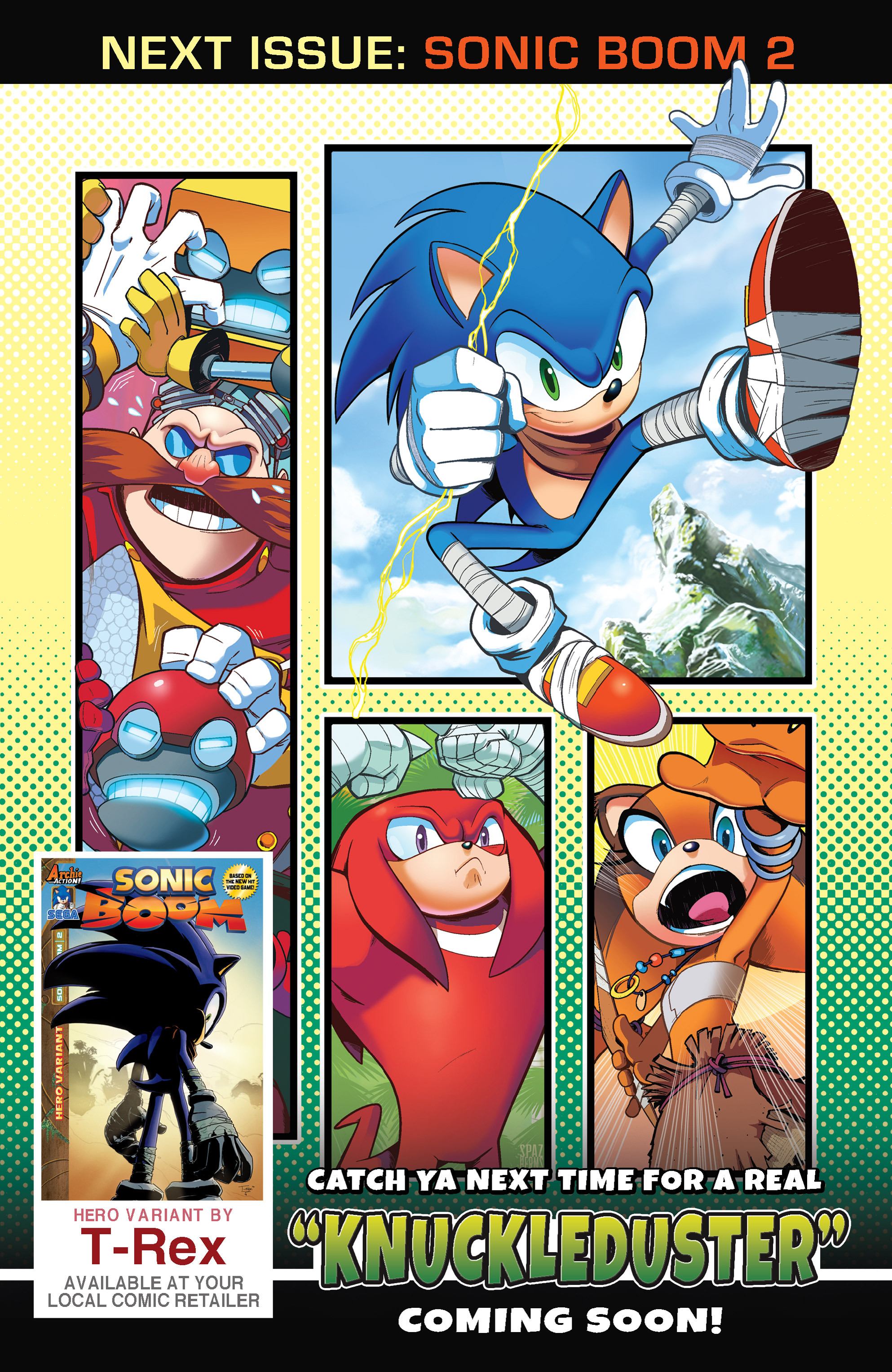 Read online Sonic Boom comic -  Issue #1 - 25