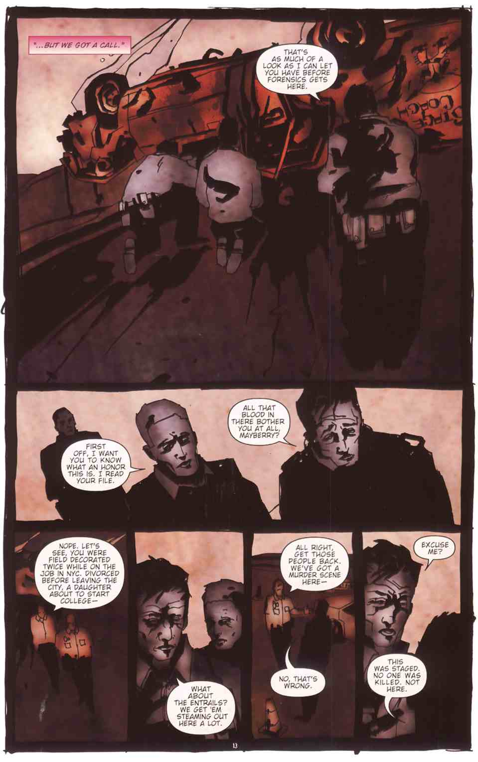 Read online Silent Hill: The Grinning Man comic -  Issue # Full - 15