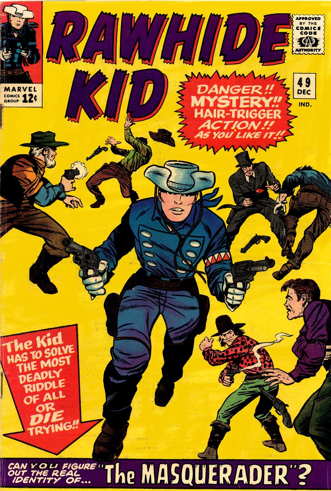 The Rawhide Kid (1955) issue 49 - Page 1