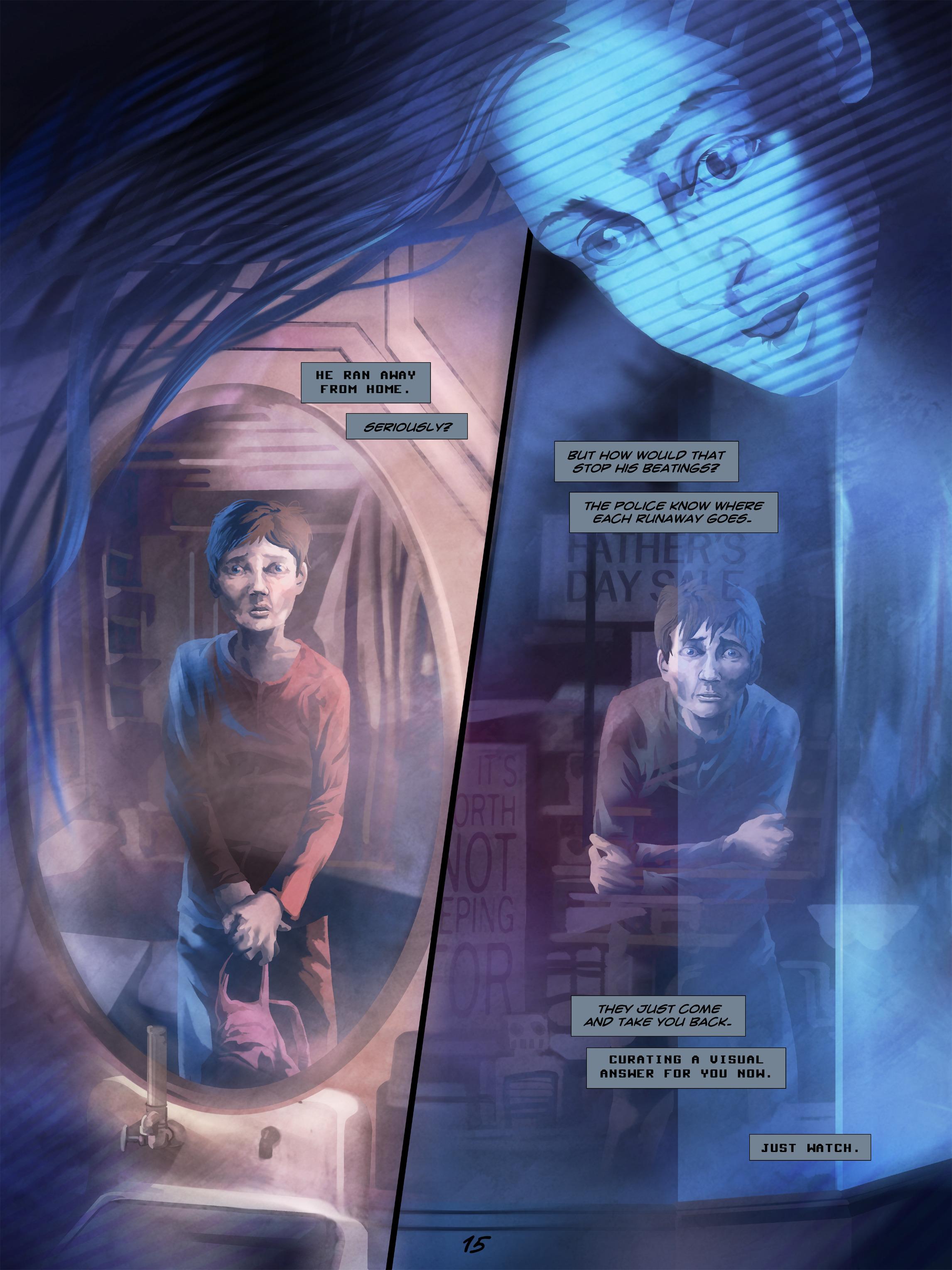 Read online Wynter comic -  Issue #5 - 16
