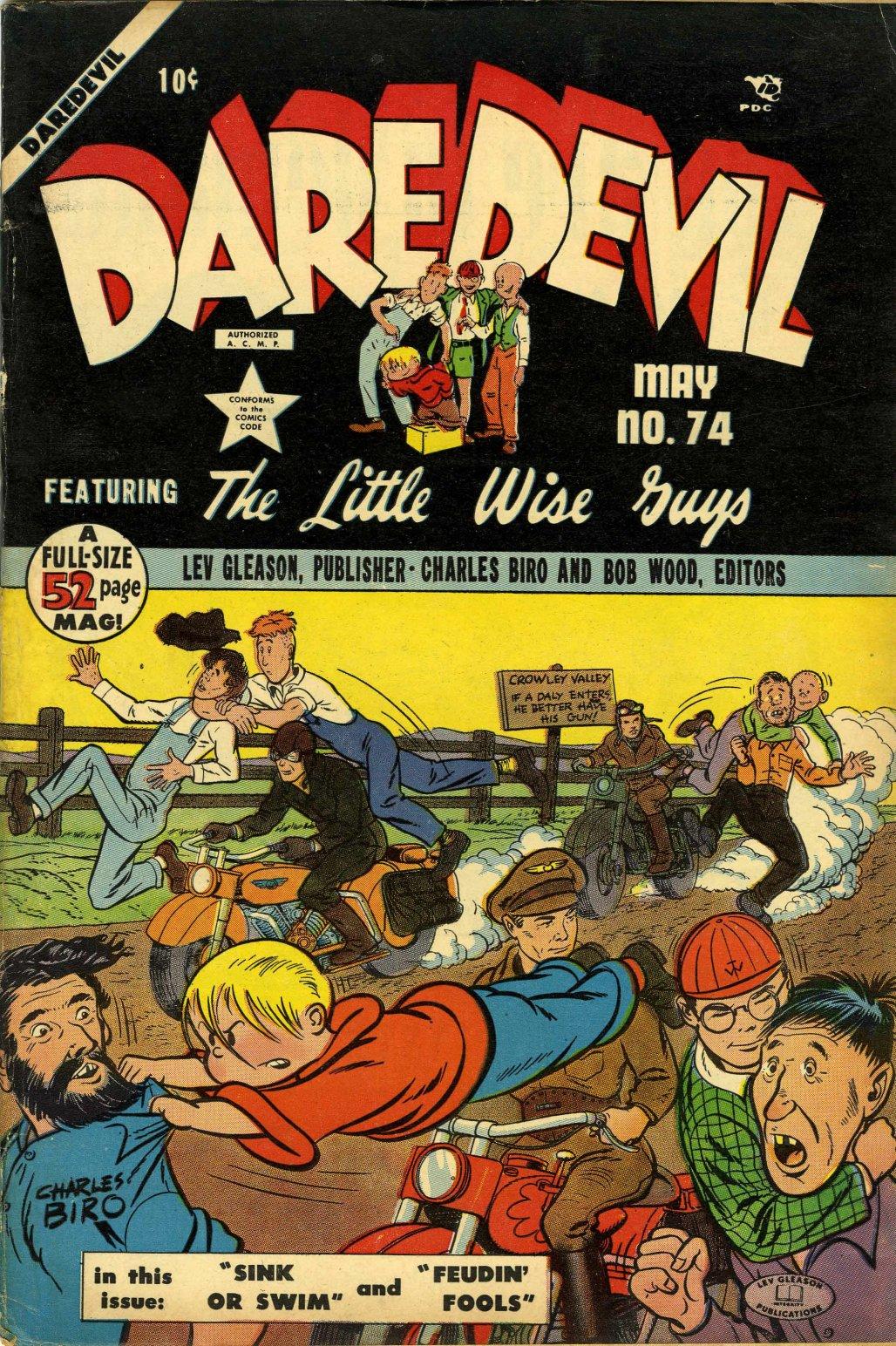 Daredevil (1941) 74 Page 1