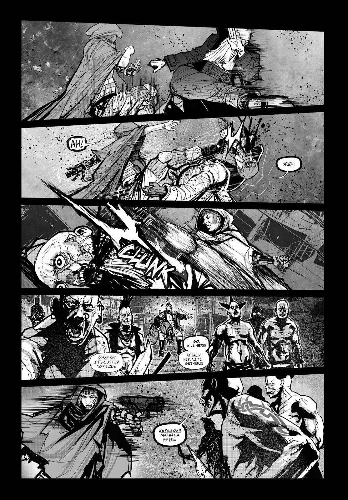 Read online Wrath of God comic -  Issue # _TPB - 86