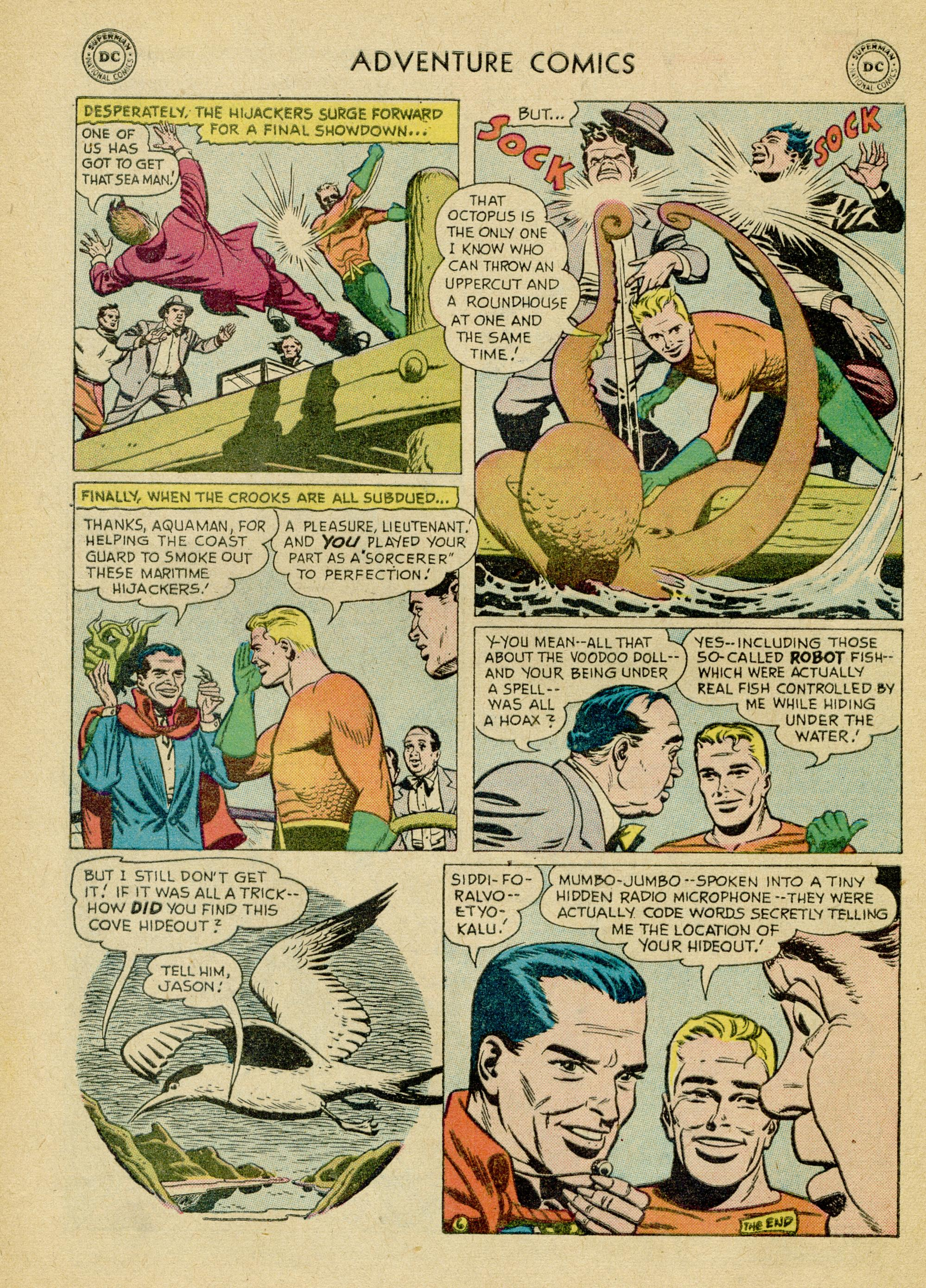 Read online Adventure Comics (1938) comic -  Issue #245 - 32