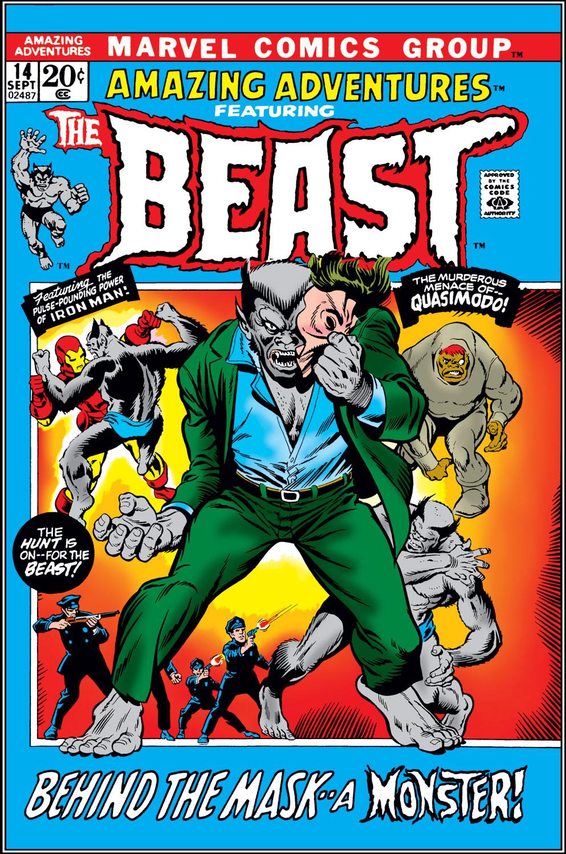 Read online Amazing Adventures (1970) comic -  Issue #14 - 1