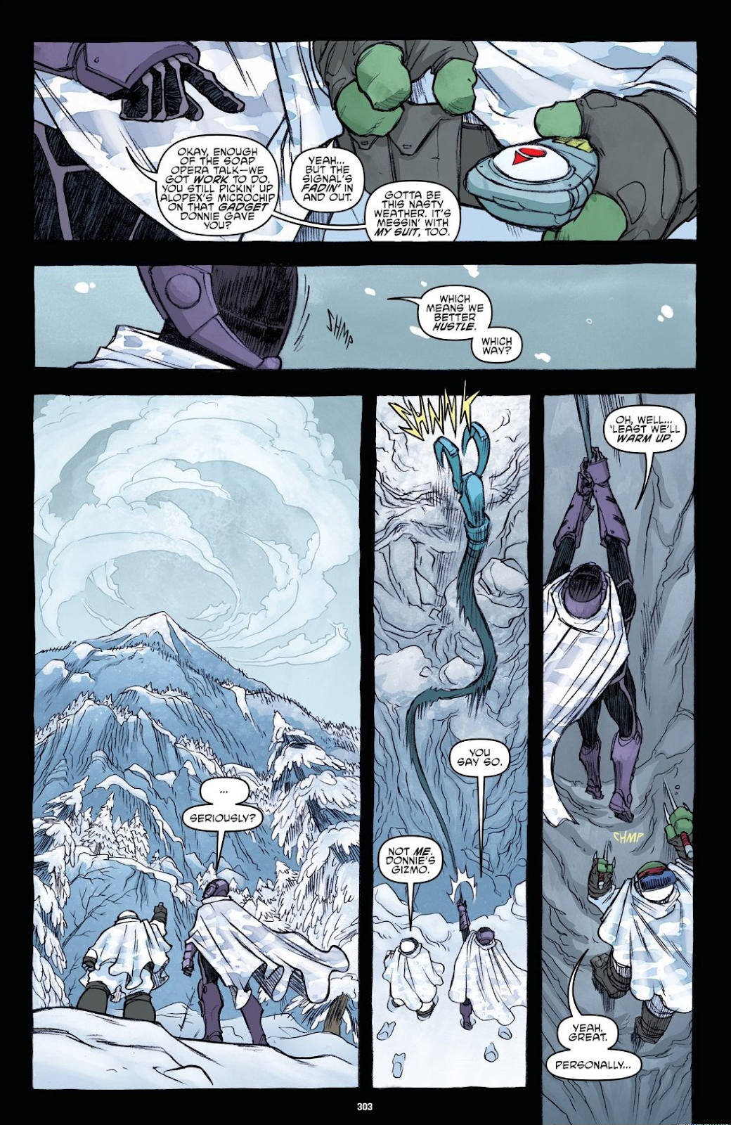 Read online Teenage Mutant Ninja Turtles: The IDW Collection comic -  Issue # TPB 8 (Part 4) - 1