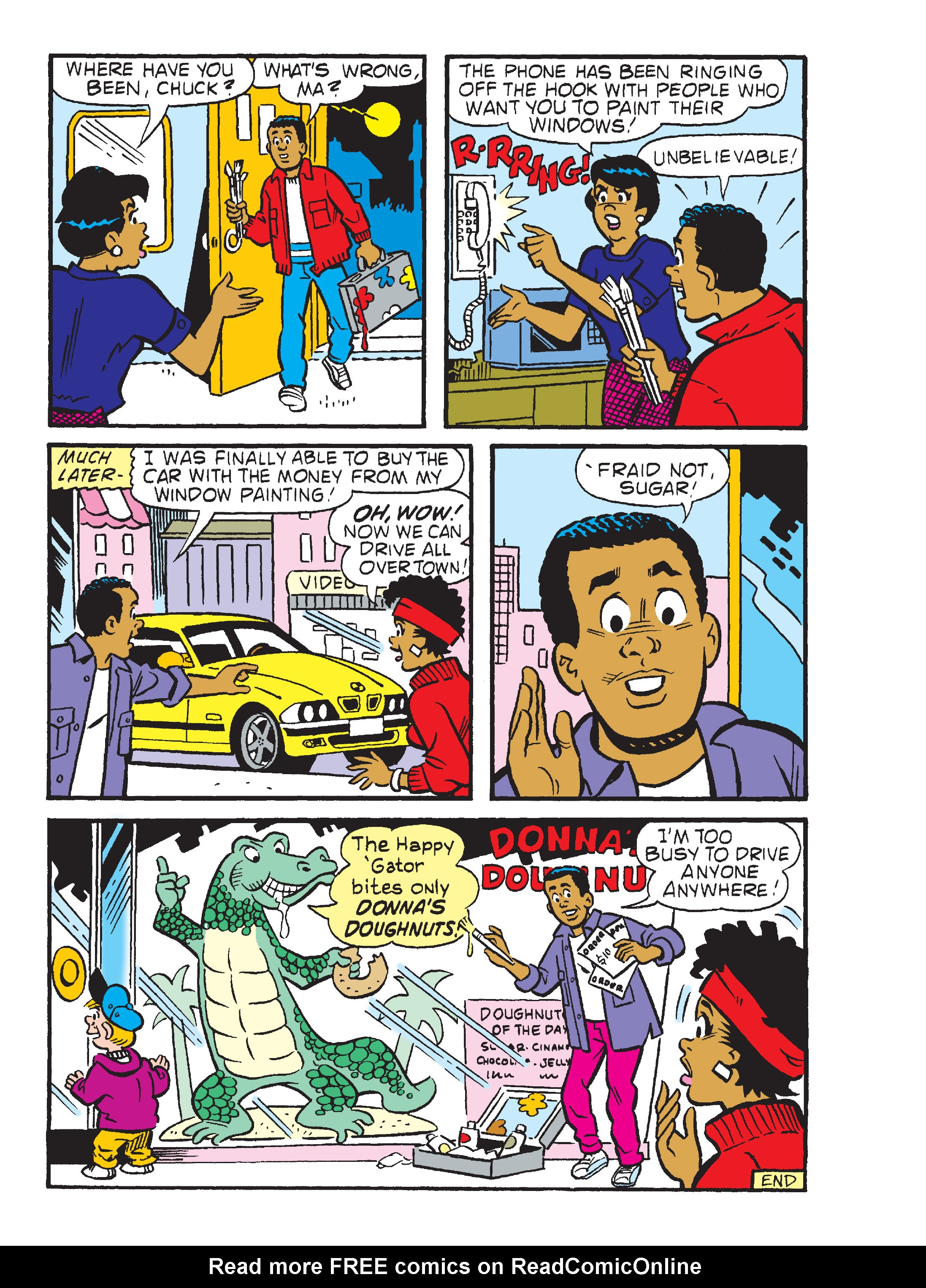 Read online Archie's Funhouse Double Digest comic -  Issue #23 - 140